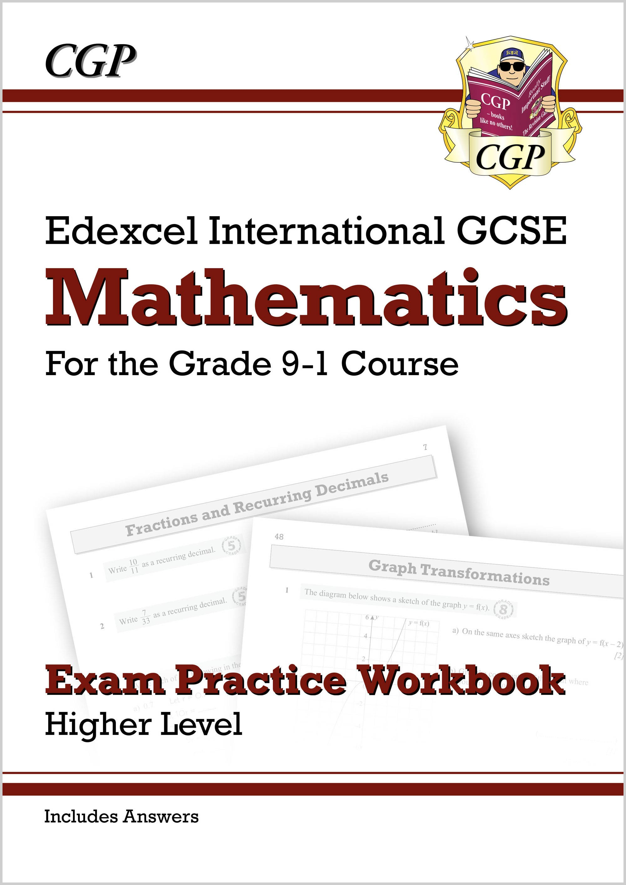 MEQI42D - Edexcel International GCSE Maths Exam Practice Workbook: Higher - Grade 9-1 (with Answers)