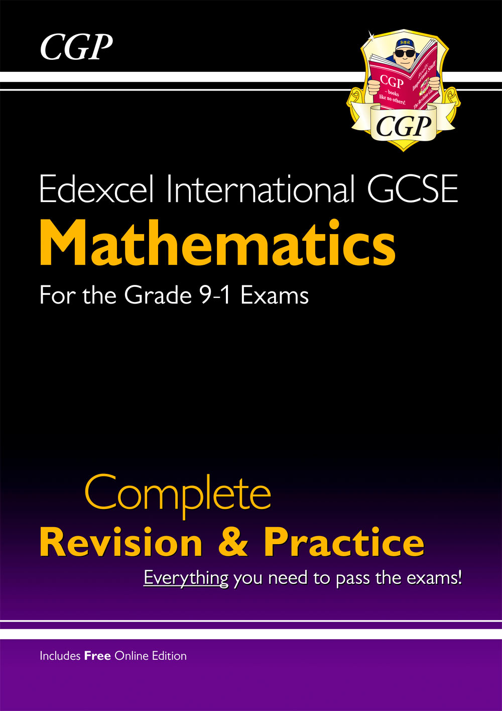 MESI41 - New Edexcel International GCSE Maths Complete Revision & Practice - Grade 9-1 (with Online