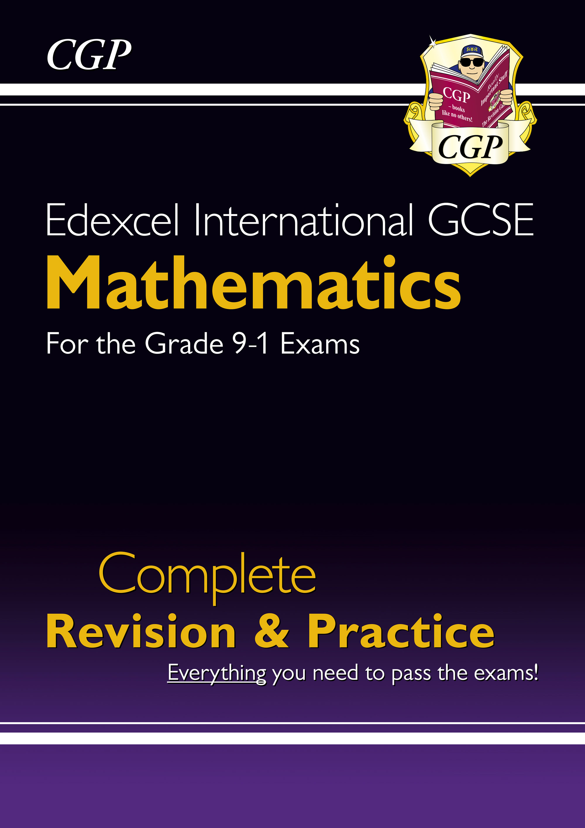 MESI41DK - New Edexcel International GCSE Maths Complete Revision & Practice - Grade 9-1