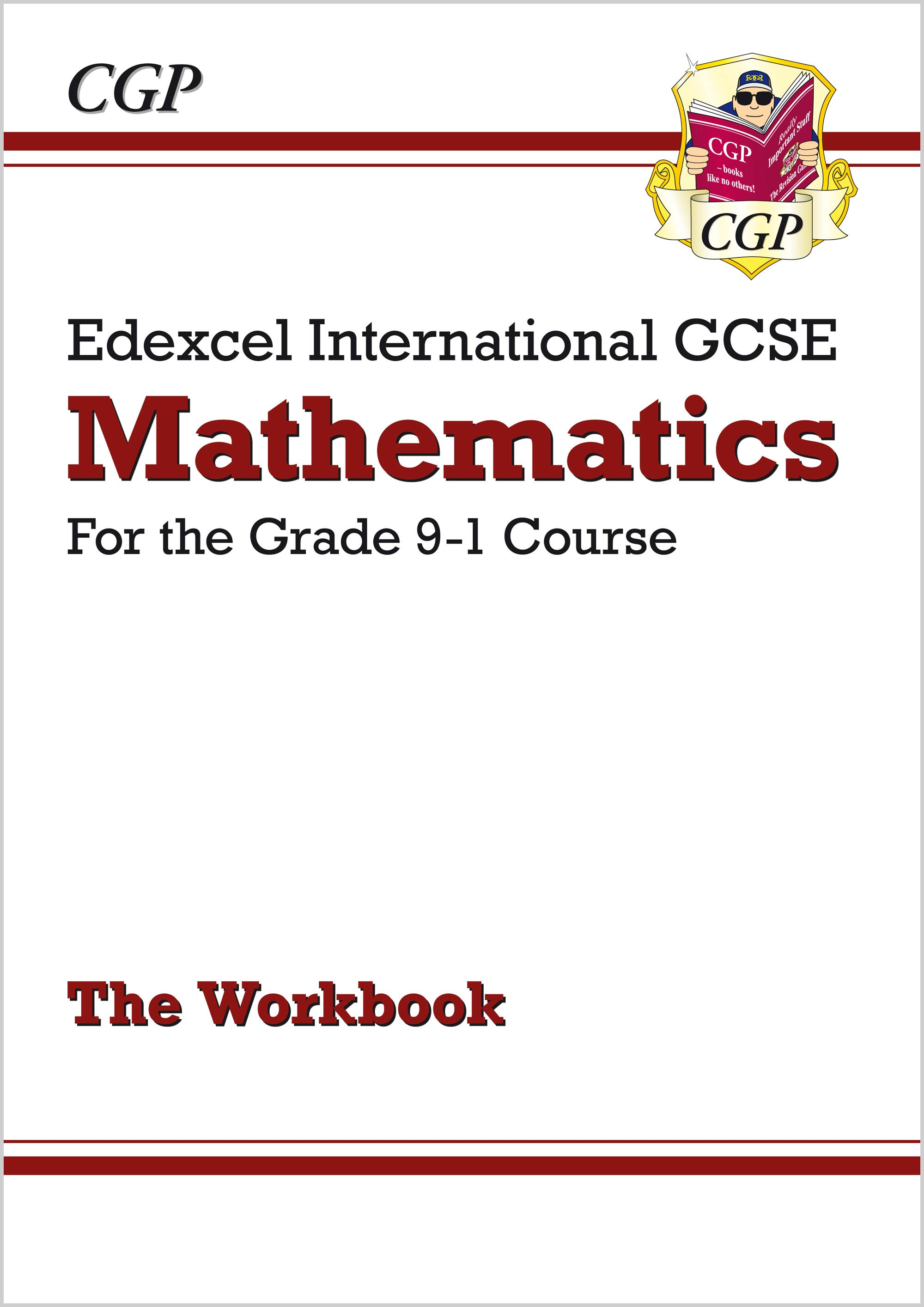 MEWI44 - Edexcel International GCSE Maths Workbook - for the Grade 9-1 Course