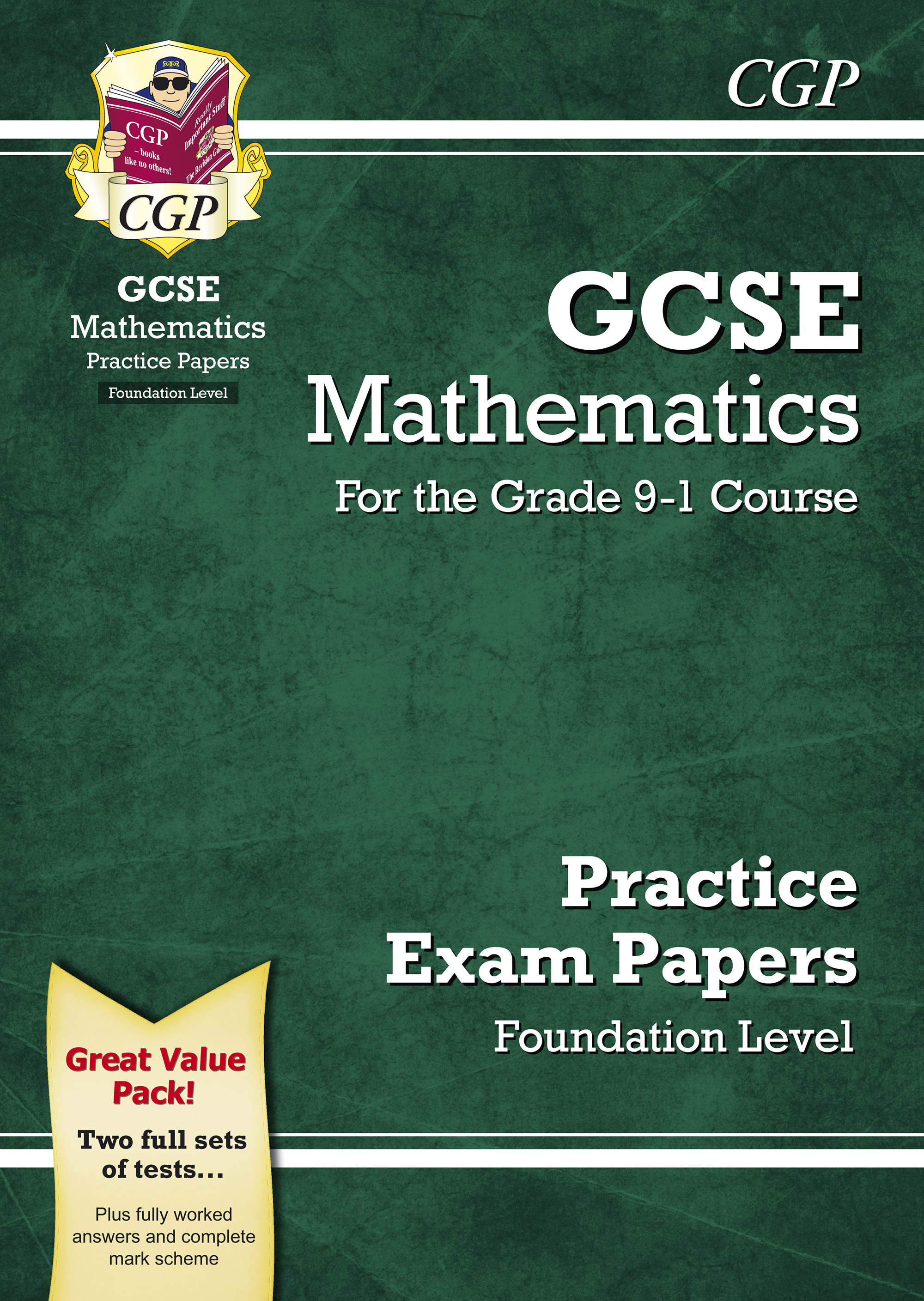 MFB45 - GCSE Maths Practice Papers: Foundation - for the Grade 9-1 Course