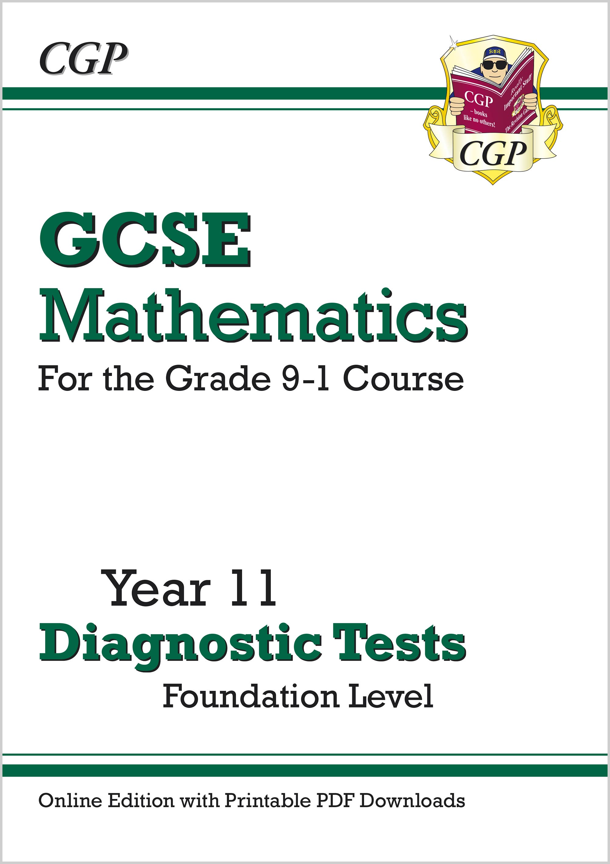MFDTW41D - New GCSE Maths Year 11 Diagnostic Tests: Foundation (Online Edition with PDF Downloads)