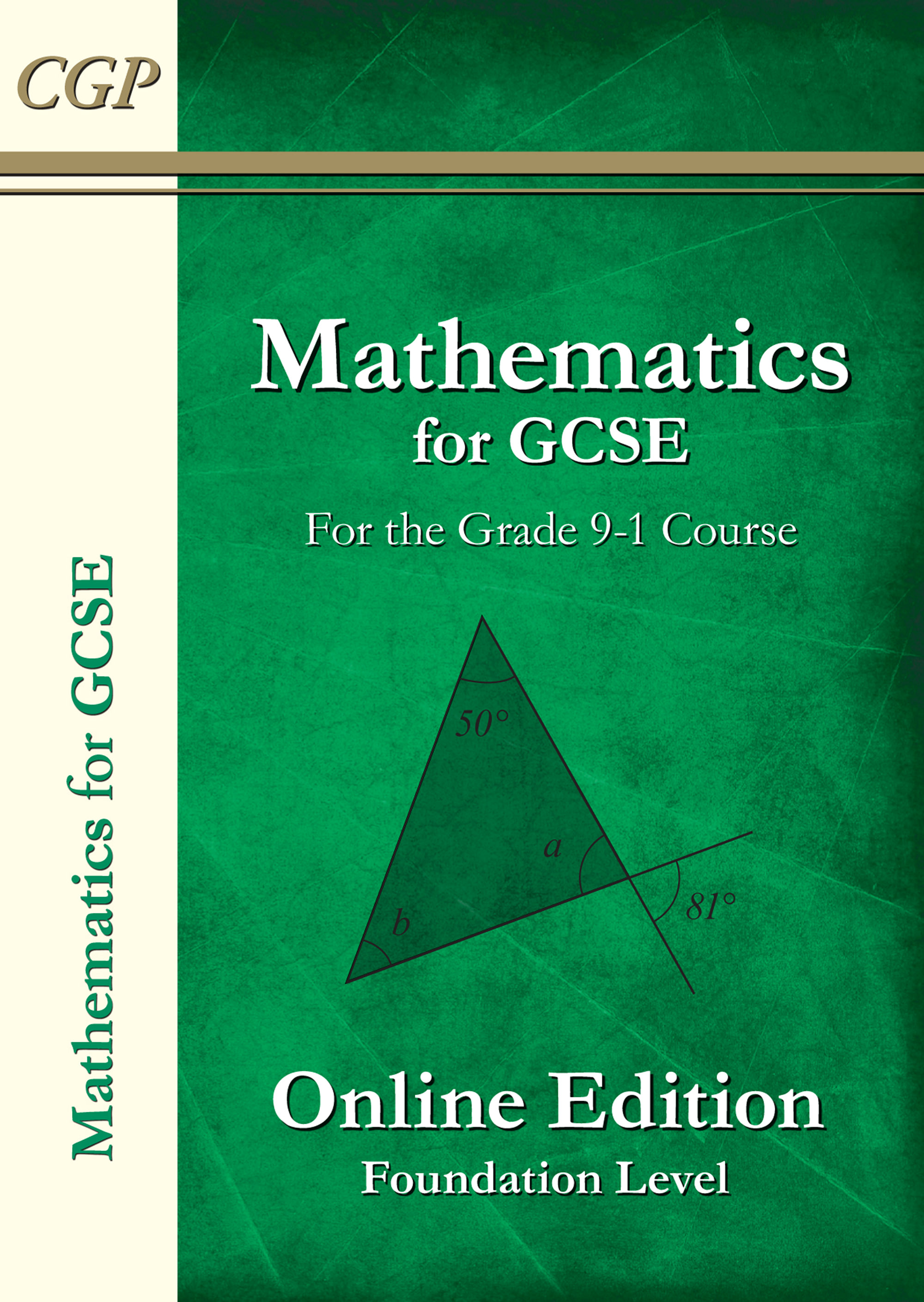 MFN42G - Maths for GCSE Textbook: Online Edition with answers - Foundation (for the Grade 9-1 Course