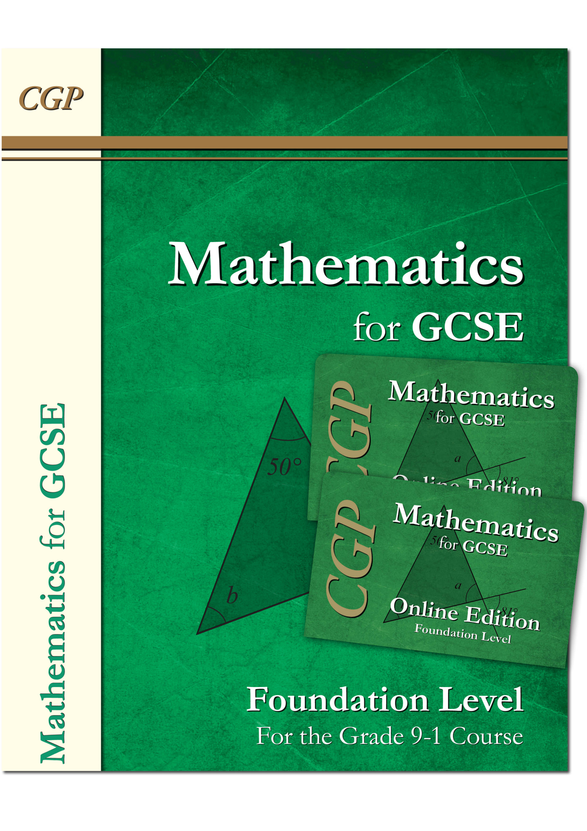 MFNB42 - New Maths for GCSE Textbook: Foundn - incl 2 online editions with answers (for the Grade 9-