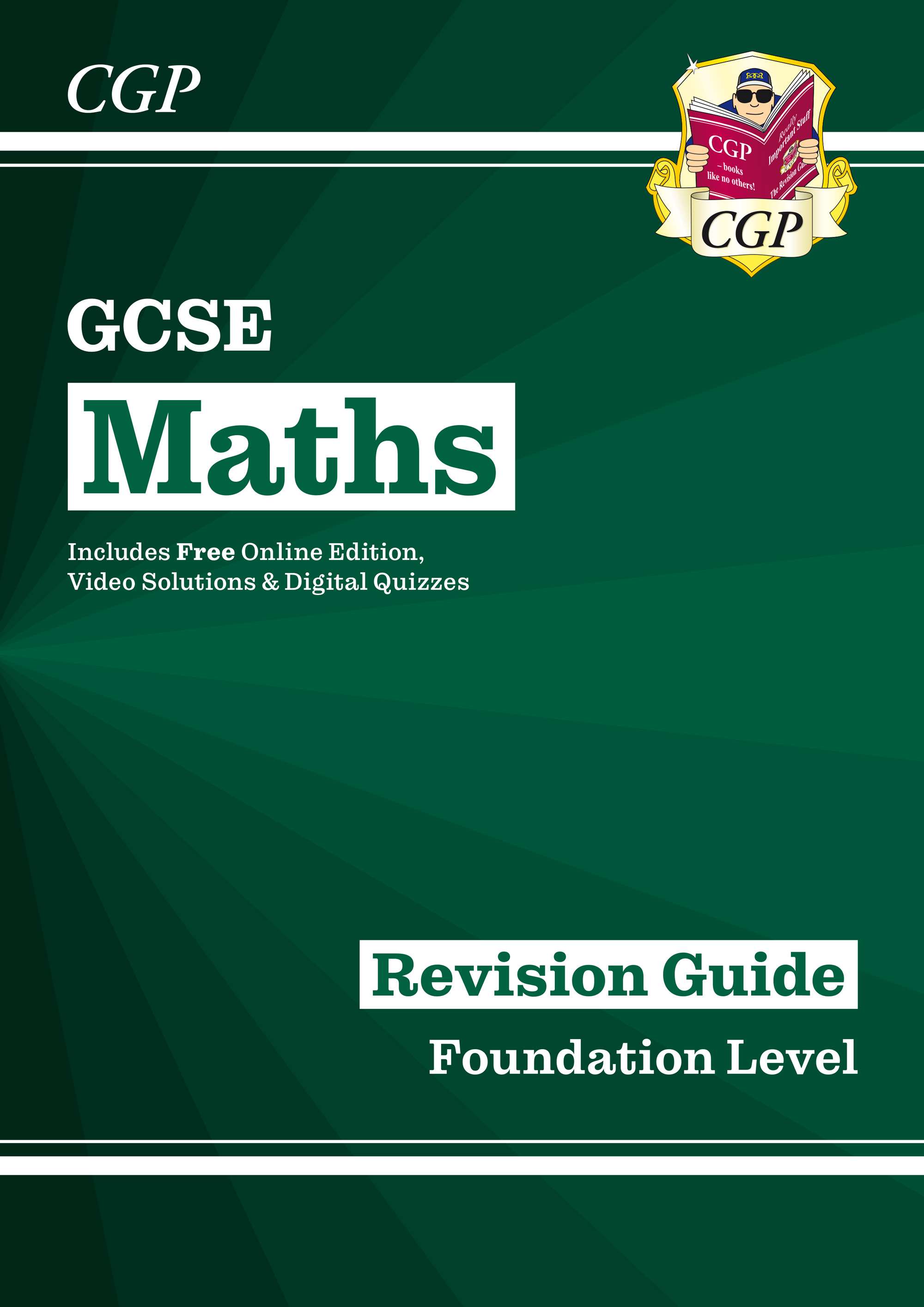 MFR140 - New 2021 GCSE Maths Revision Guide: Foundation inc Online Edition, Videos & Quizzes