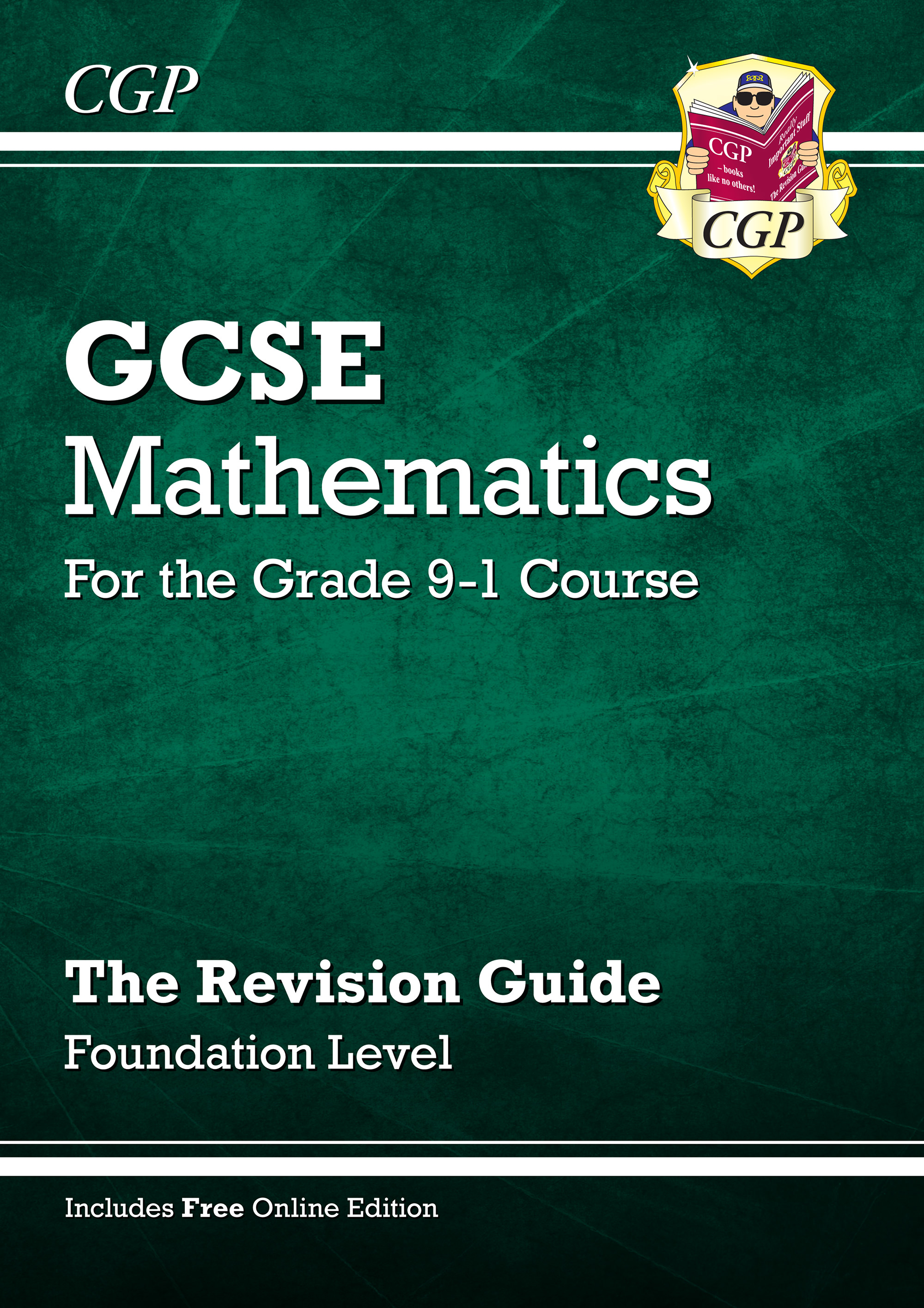 MFR47 - GCSE Maths Revision Guide: Foundation - for the Grade 9-1 Course (with Online Edition)