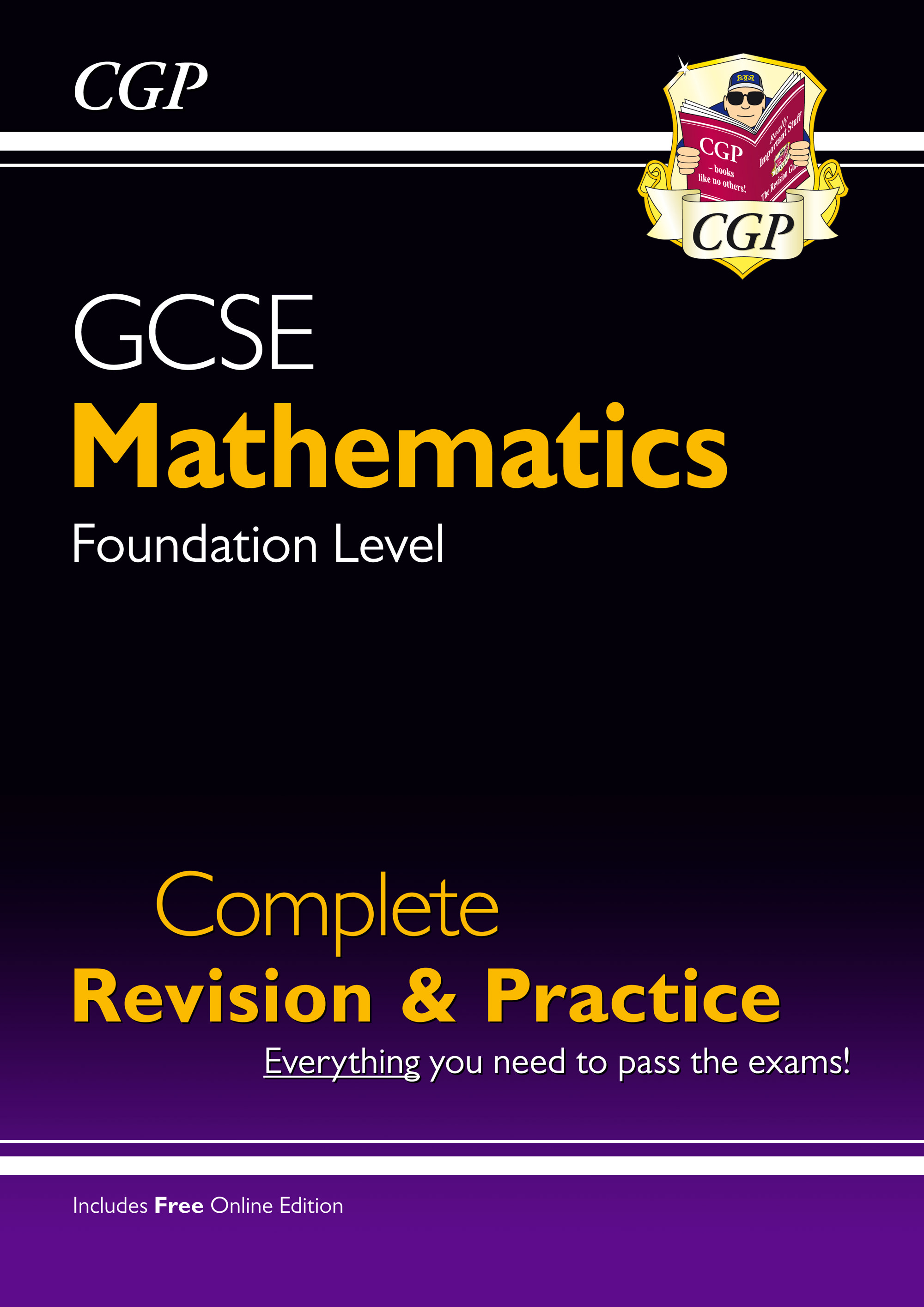MFS47 - GCSE Maths Complete Revision & Practice: Foundation - Grade 9-1 Course (with Online Edition)