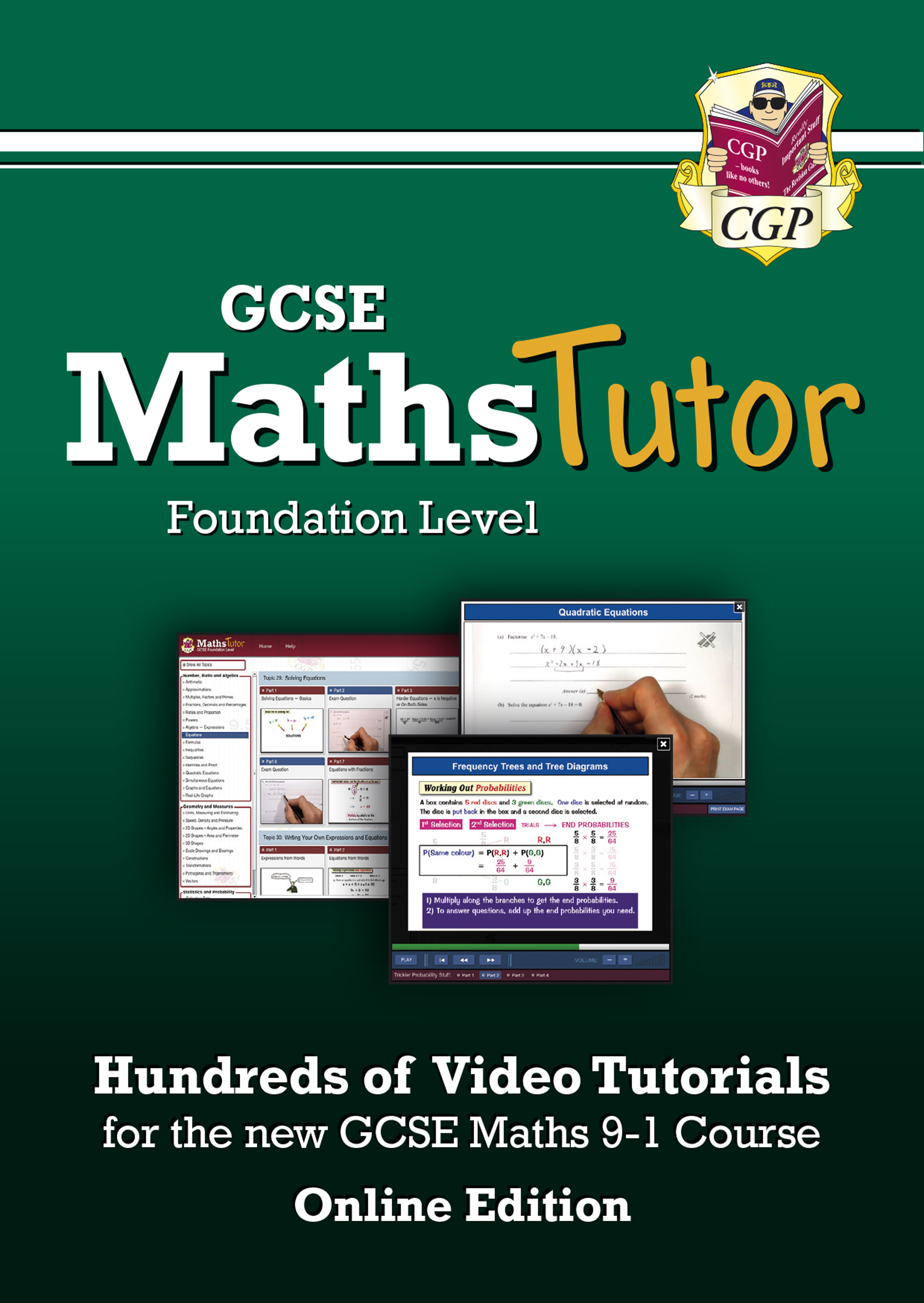 MFVC43D - MathsTutor: GCSE Maths Video Tutorials (Grade 9-1 Course) Foundation - Online Edition