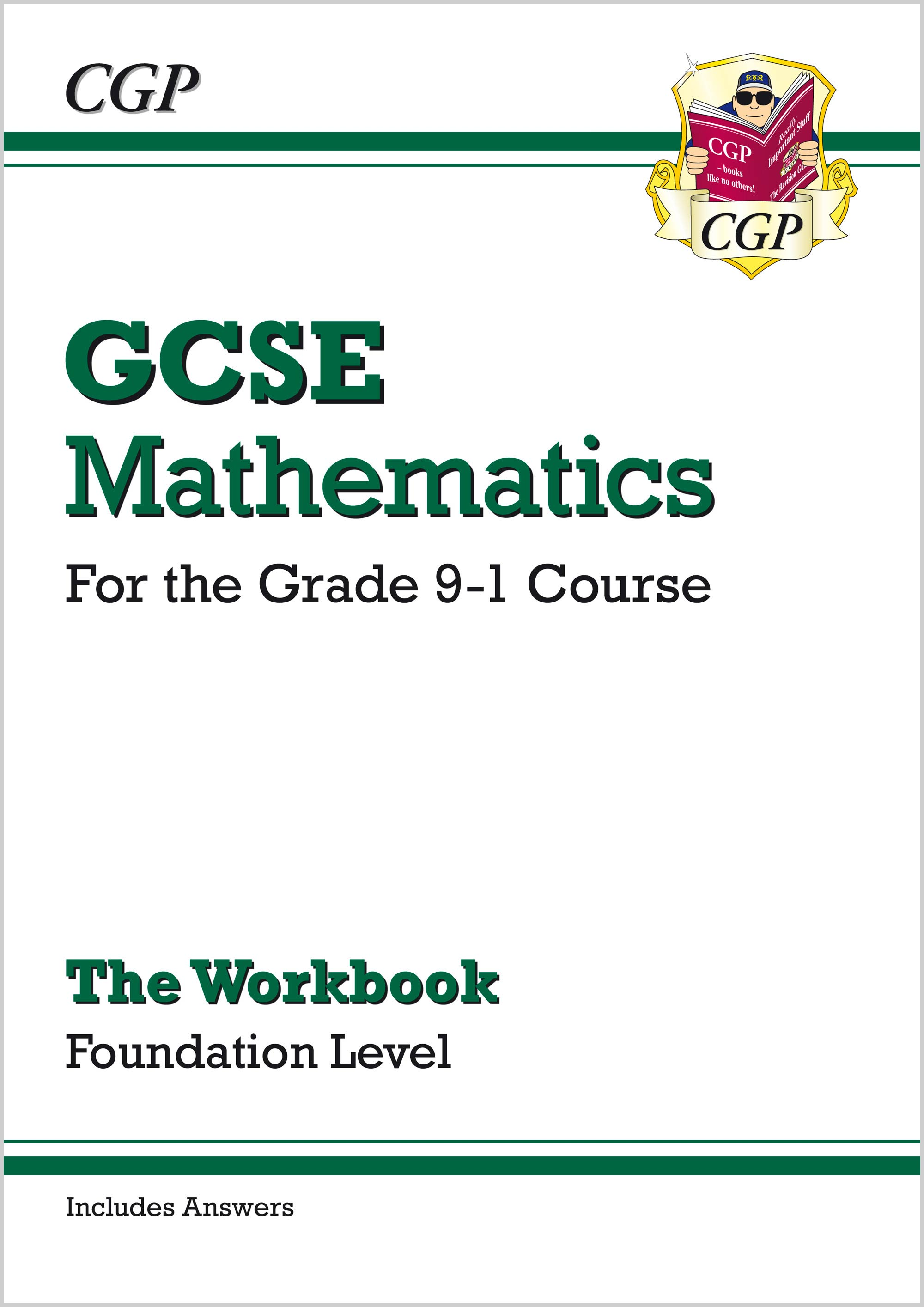 MFW46B - GCSE Maths Workbook: Foundation - for the Grade 9-1 Course (includes Answers)