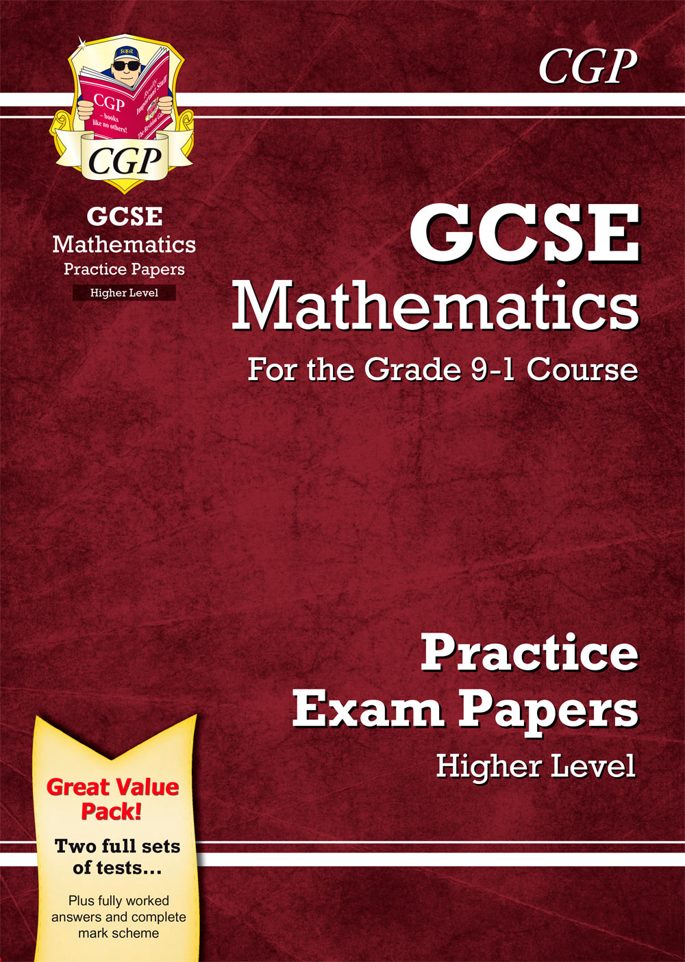 MHB45 - GCSE Maths Practice Papers: Higher - for the Grade 9-1 Course
