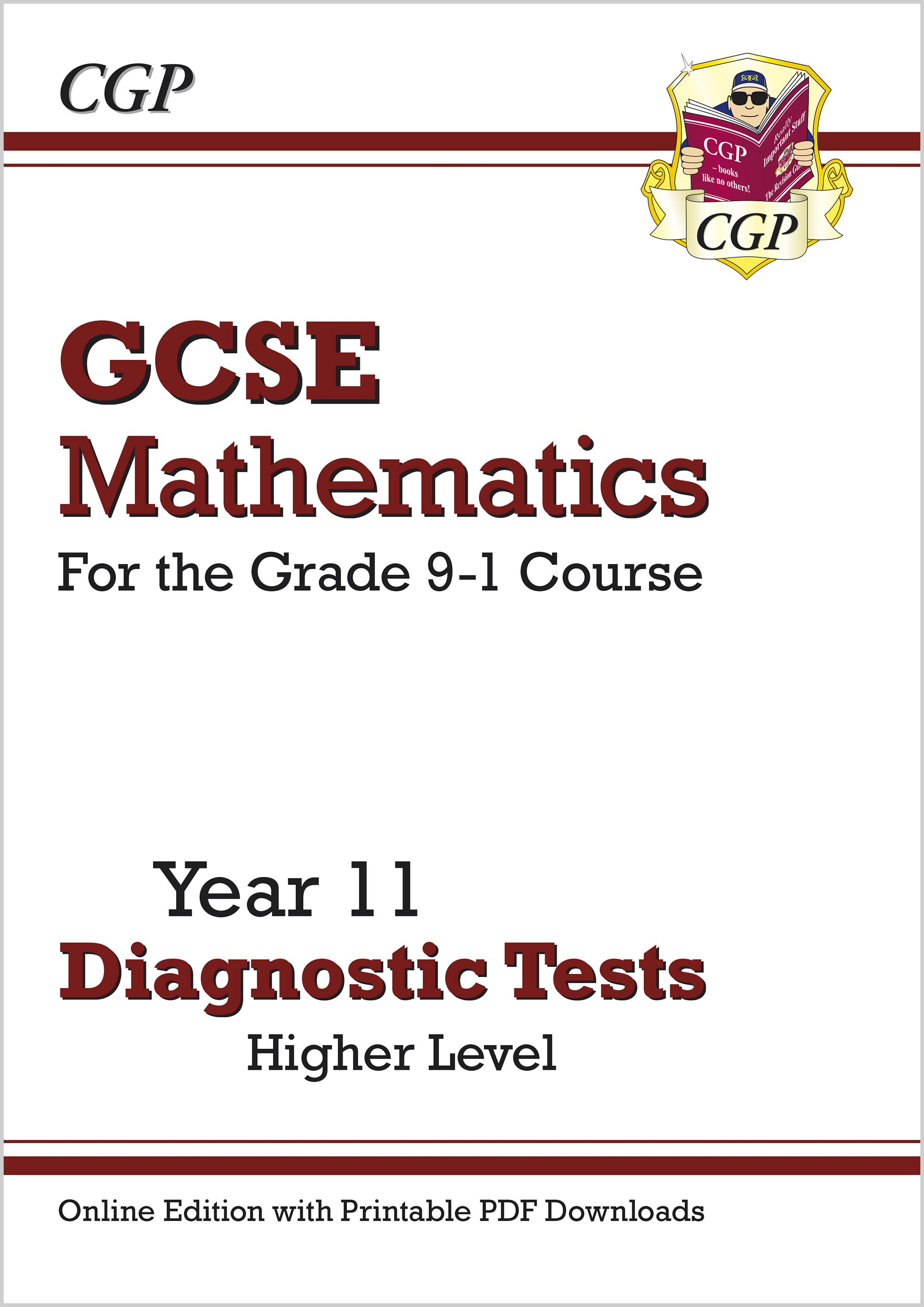 MHDTW41D - New GCSE Maths Year 11 Diagnostic Tests: Higher (Online Edition with PDF Downloads)
