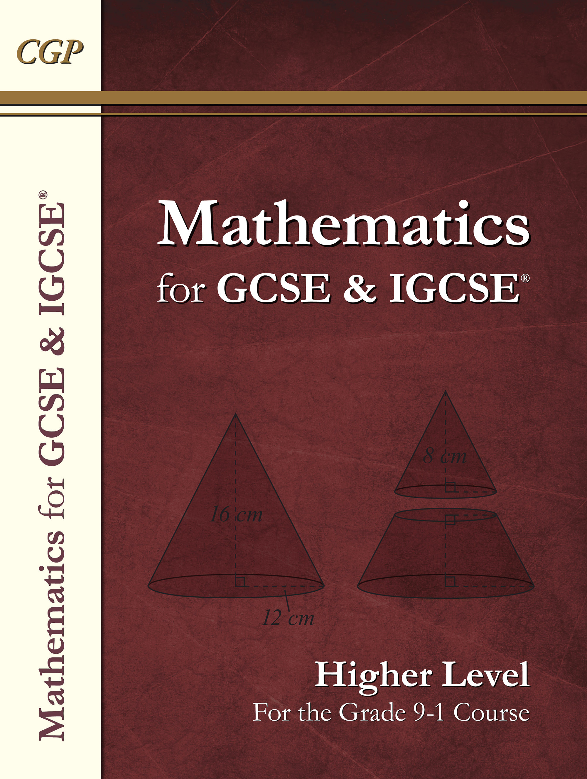 MHN43 - Maths for GCSE and IGCSE® Textbook, Higher (for the Grade 9-1 Course)