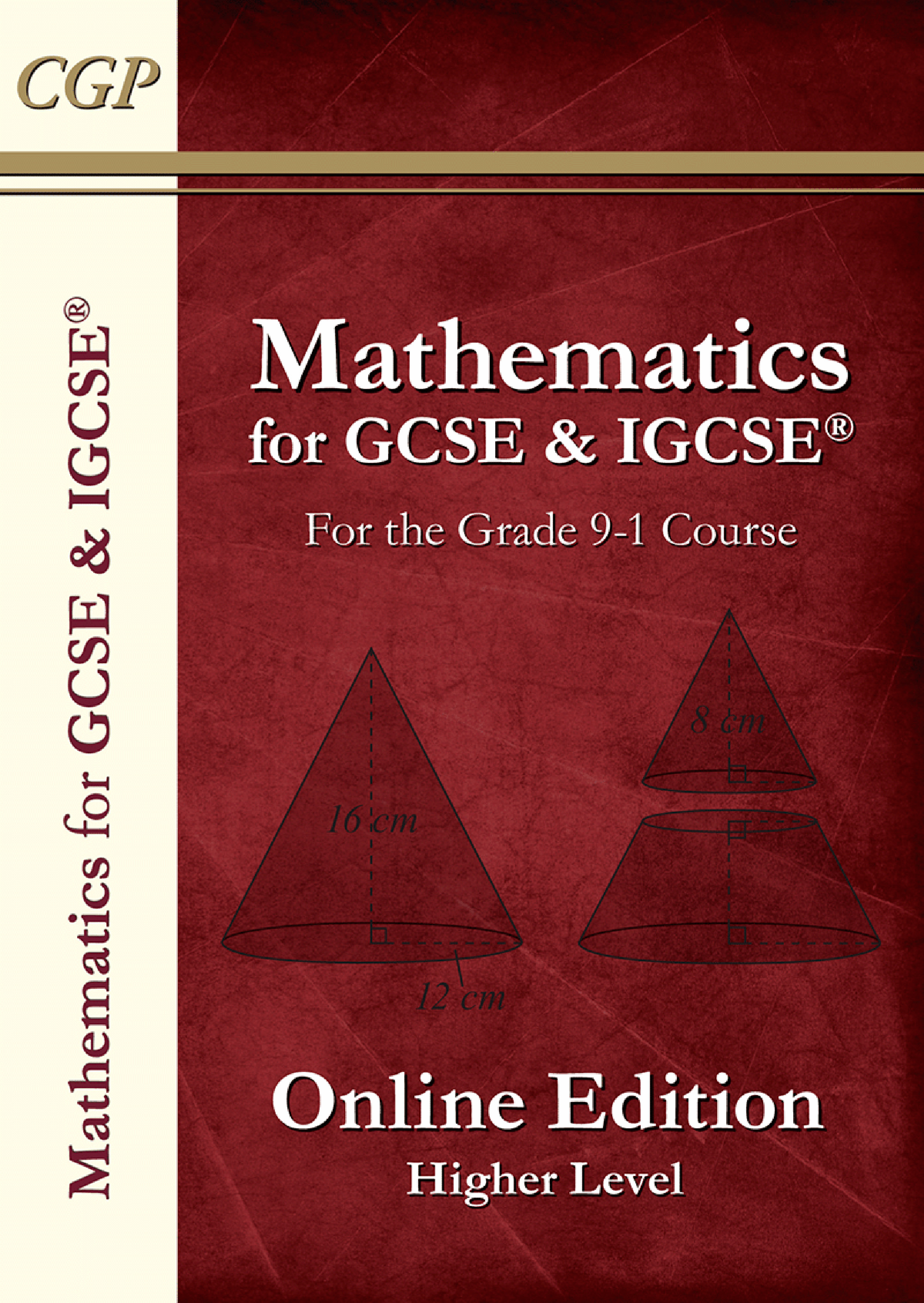 MHN43D - New Maths for GCSE Textbook: Online Edition with answers - Higher (for the Grade 9-1 Course