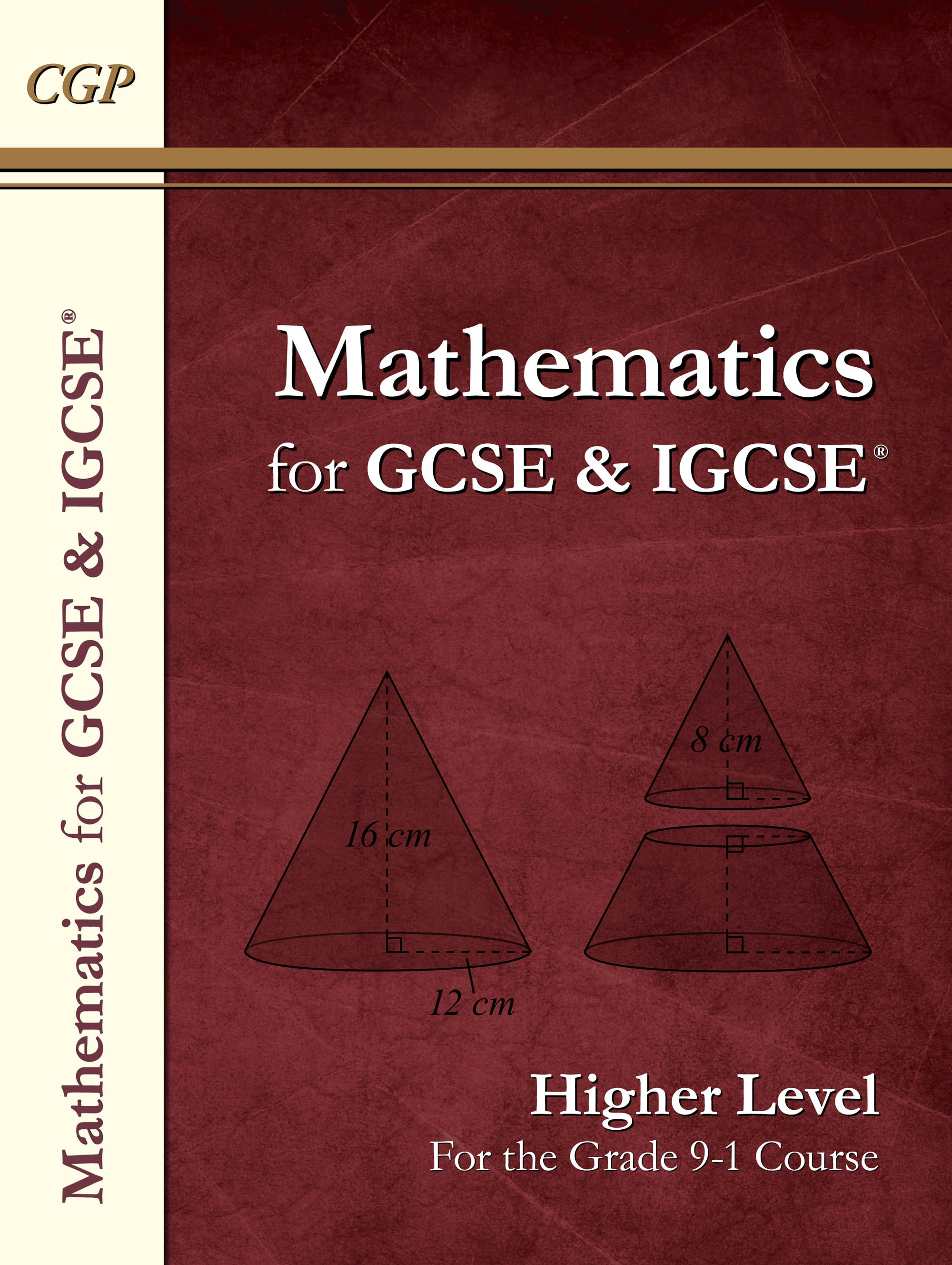 MHN43DK - New Maths for GCSE and IGCSE® Textbook, Higher (for the Grade 9-1 Course)
