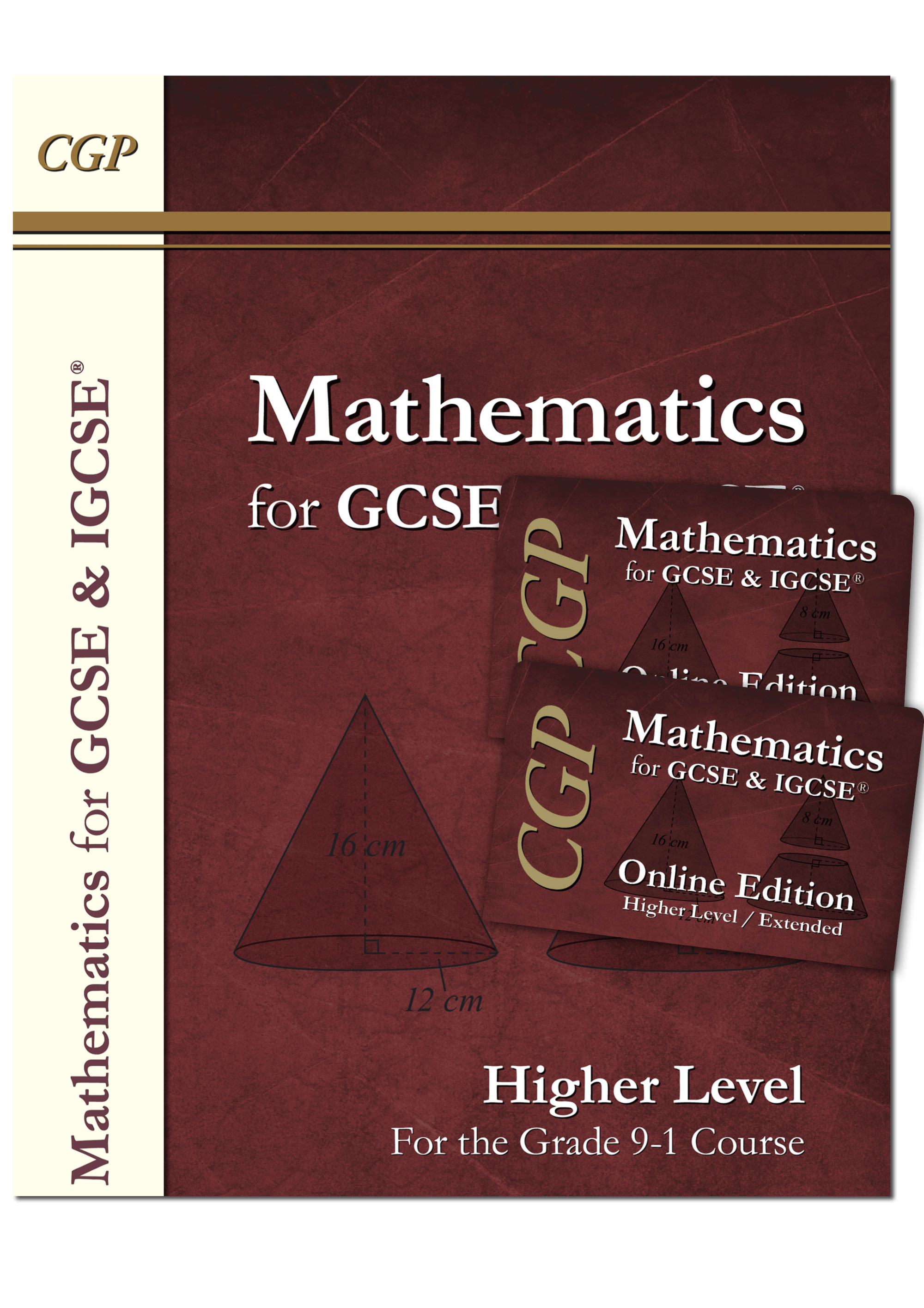 MHNB43 - New Maths for GCSE Textbook: Higher - incl 2 online editions with answers (for the Grade 9-