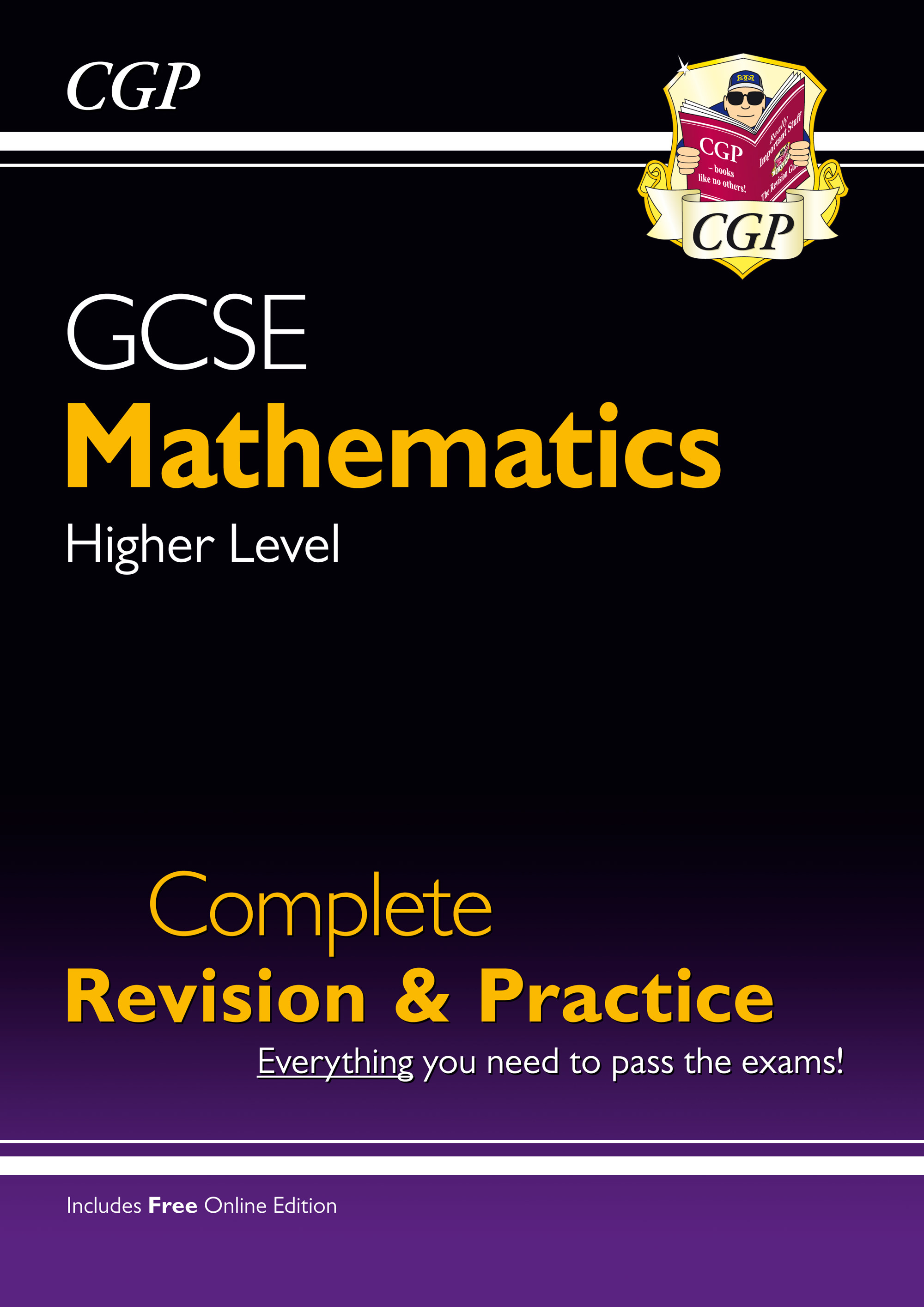 MHS47 - GCSE Maths Complete Revision & Practice: Higher - Grade 9-1 Course (with Online Edition)