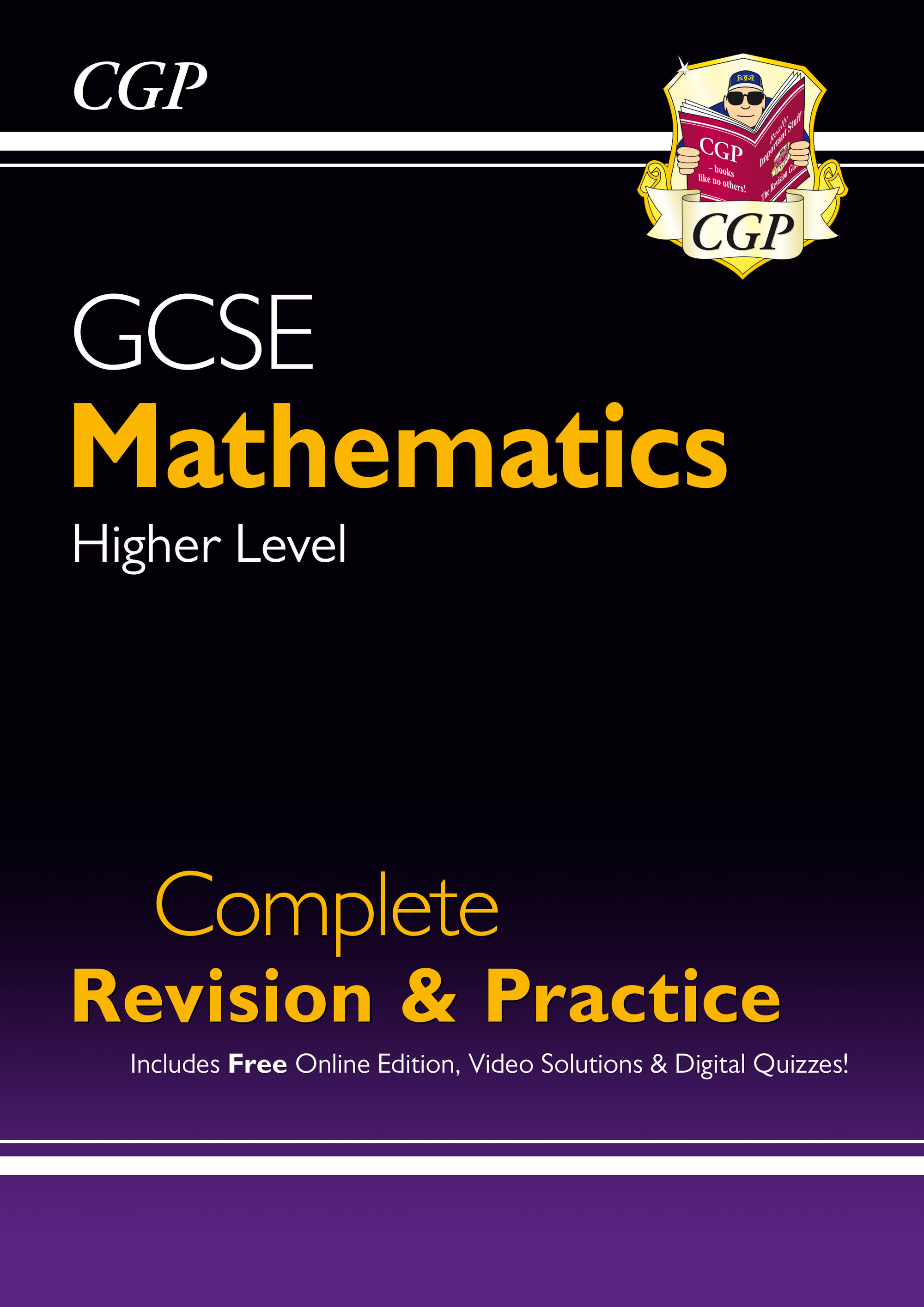 MHS48 - New 2021 GCSE Maths Complete Revision & Practice: Higher inc Online Ed, Videos & Quizzes