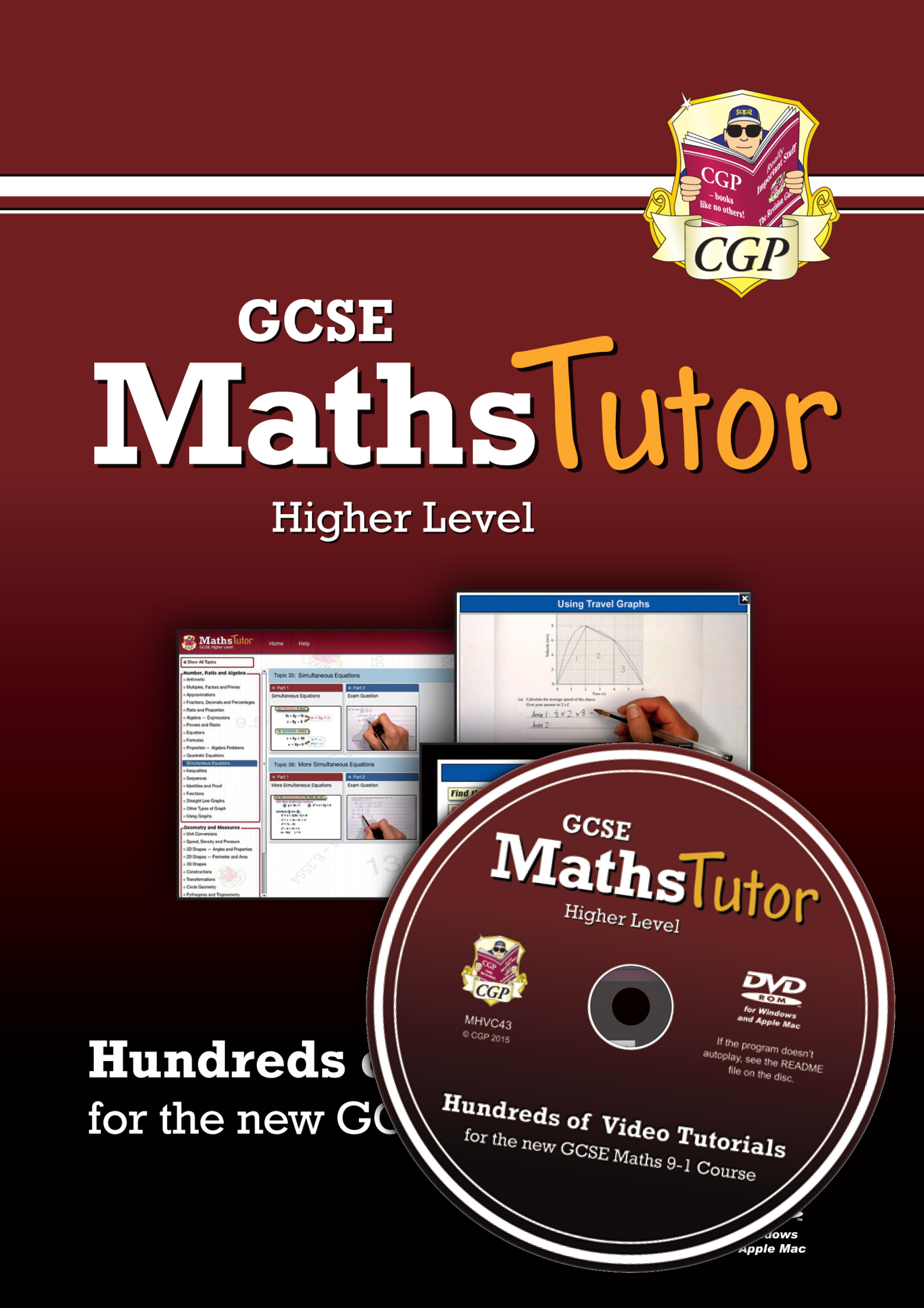MHVC43 - MathsTutor: GCSE Maths Video Tutorials (Grade 9-1 Course) Higher - DVD-ROM for PC/Mac