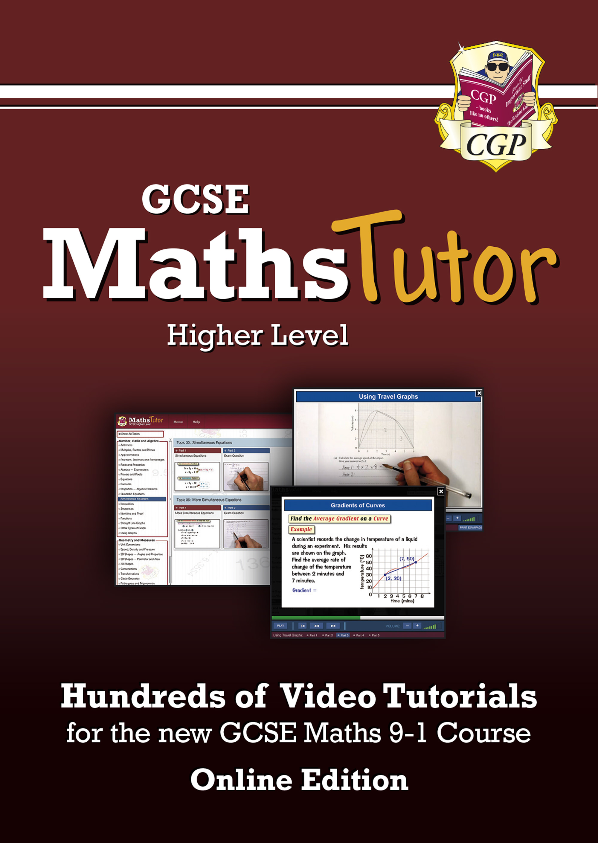 MHVC43G - MathsTutor: GCSE Maths Video Tutorials (Grade 9-1 Course) Higher - Online Edition
