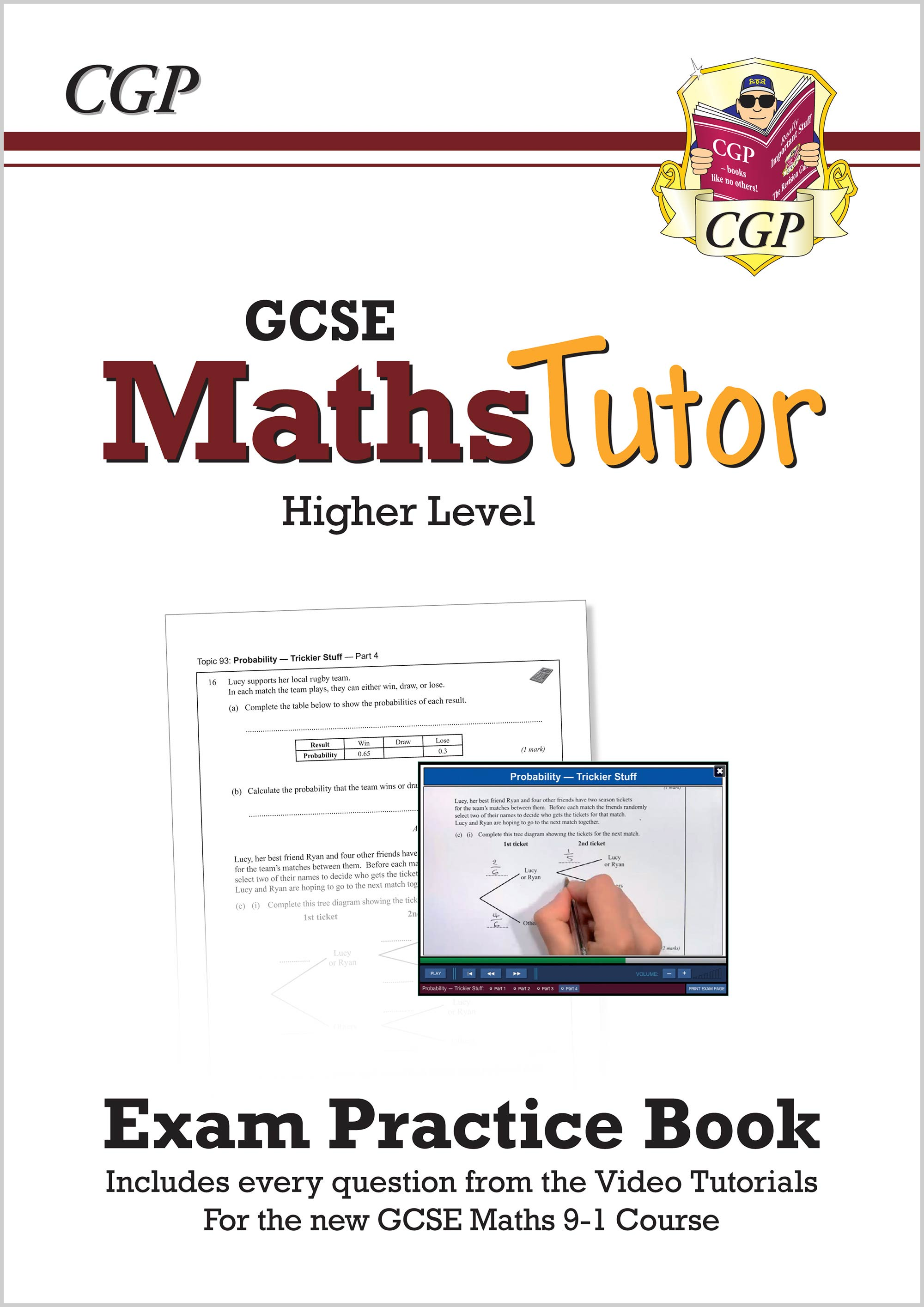 MHVW43 - MathsTutor: GCSE Exam Practice Book (for the Grade 9-1 Course) Higher