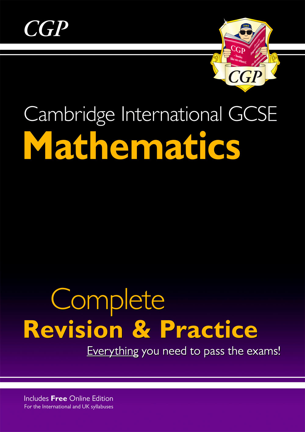 MISI41 - New Cambridge International GCSE Maths Complete Revision & Practice: Core & Extended + Onli