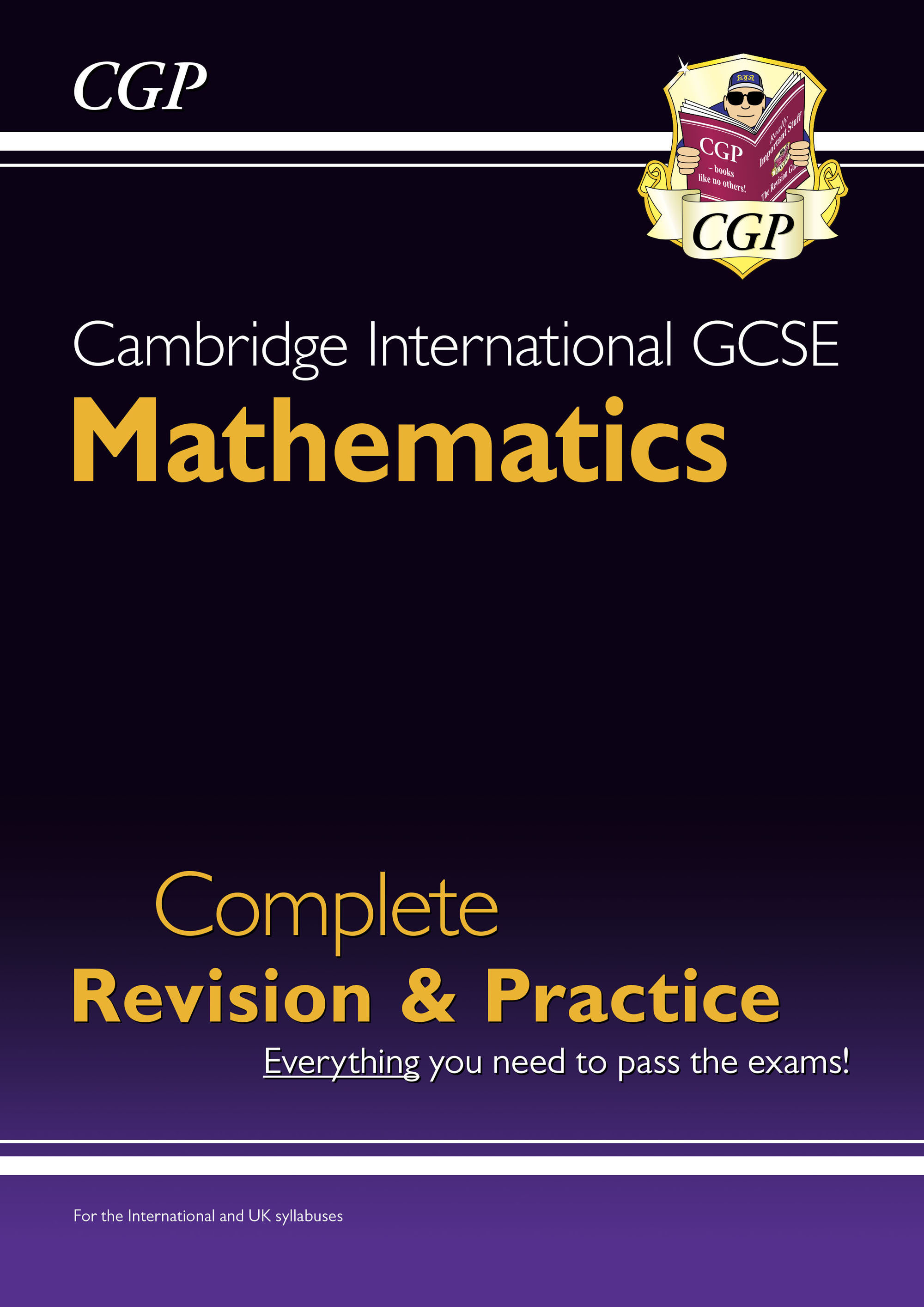 MISI41DK - New Cambridge International GCSE Maths Complete Revision & Practice: Core & Extended