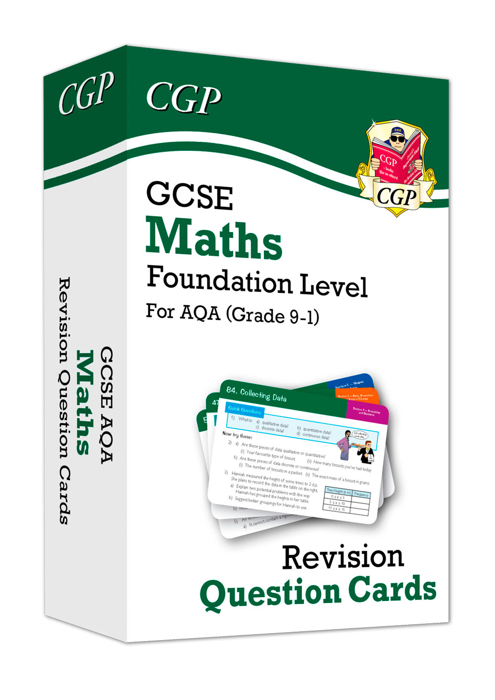 MQFF41 - New Grade 9-1 GCSE Maths AQA Revision Question Cards - Foundation