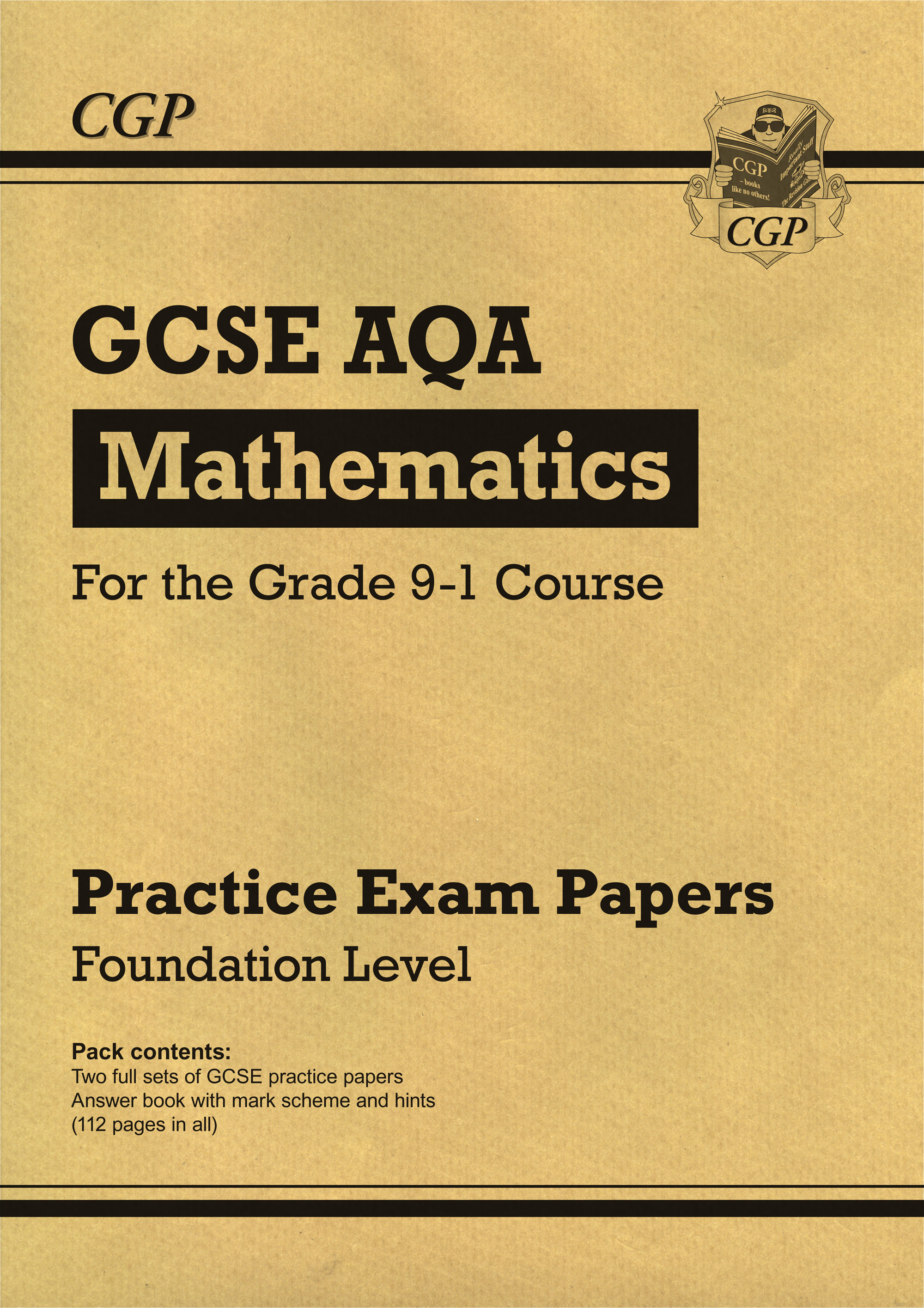 MQFP43 - New GCSE Maths AQA Practice Papers: Foundation - for the Grade 9-1 Course