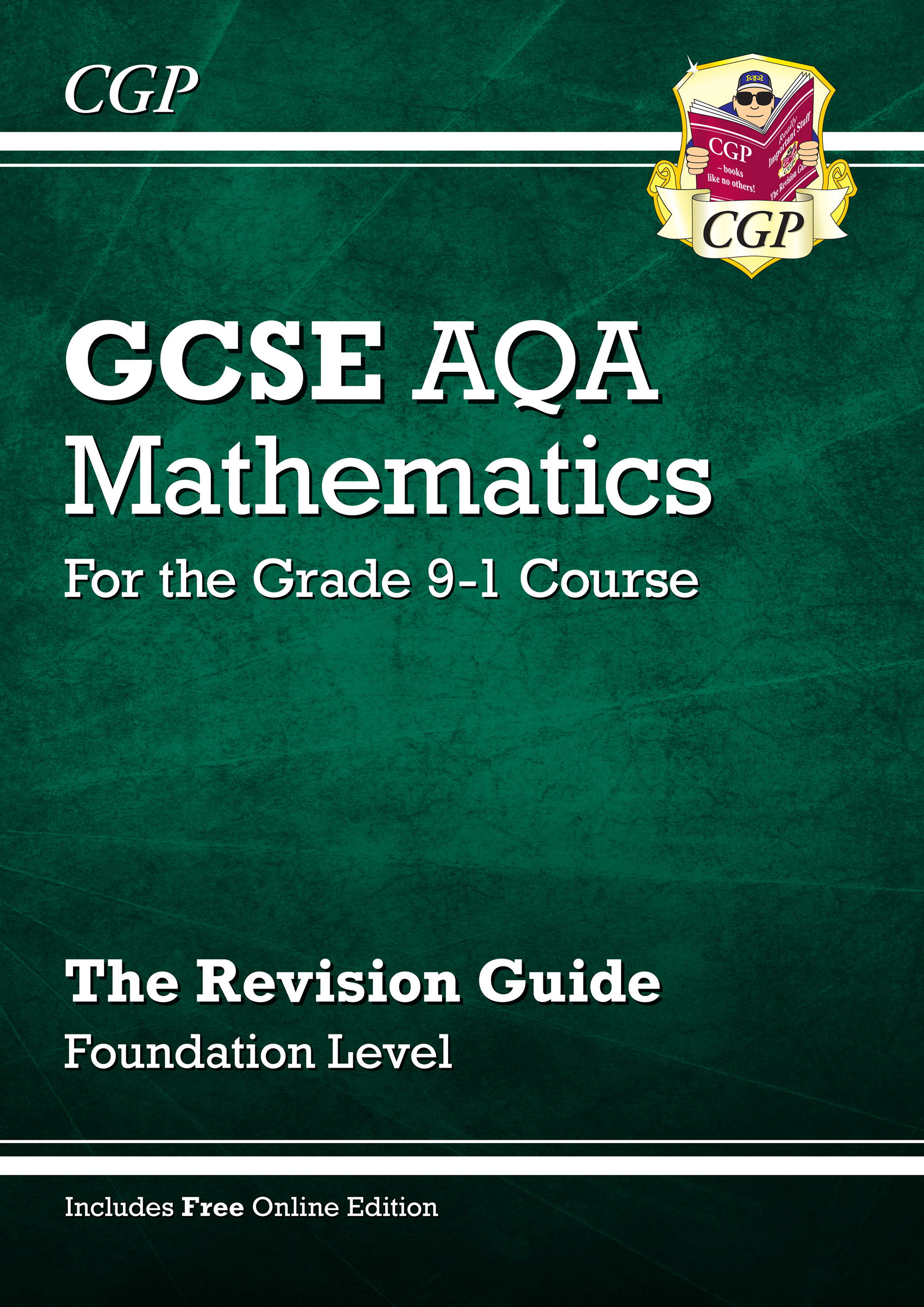 MQFR46 - GCSE Maths AQA Revision Guide: Foundation - for the Grade 9-1 Course (with Online Edition)