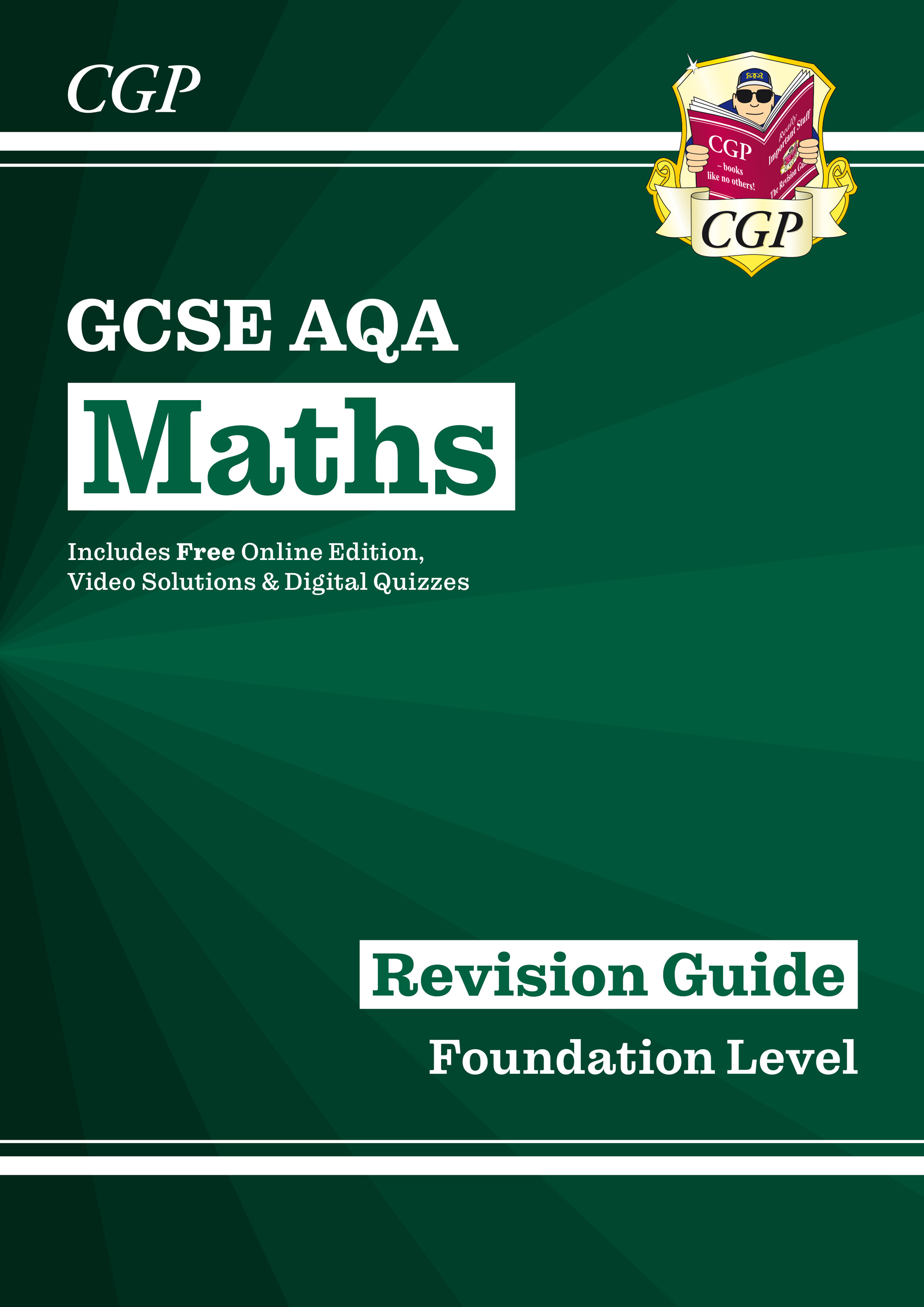 MQFR47 - New 2021 GCSE Maths AQA Revision Guide: Foundation inc Online Edition, Videos & Quizzes