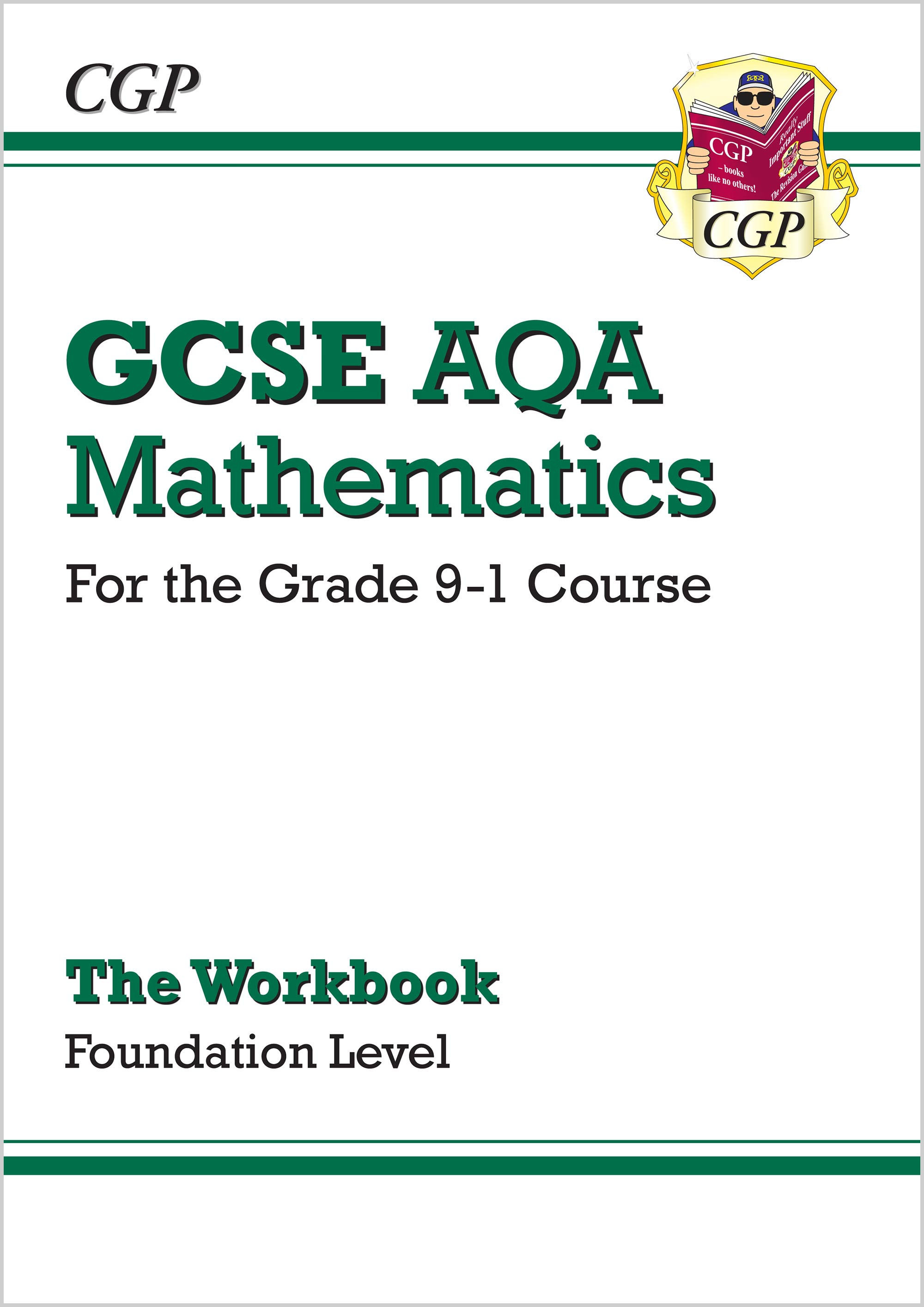 MQFW46 - GCSE Maths AQA Workbook: Foundation - for the Grade 9-1 Course