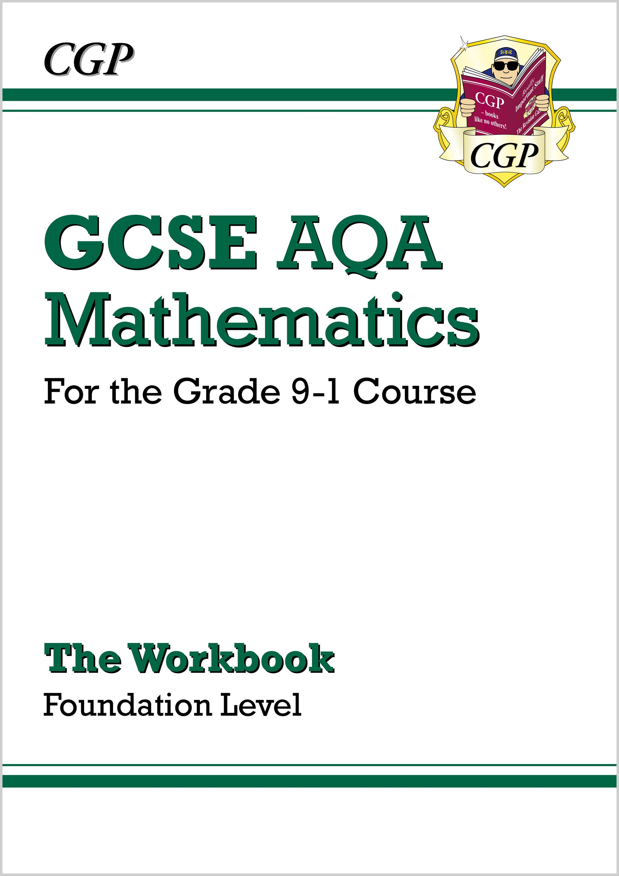 MQFW46D - GCSE Maths AQA Workbook: Foundation - for the Grade 9-1 Course Online Edition