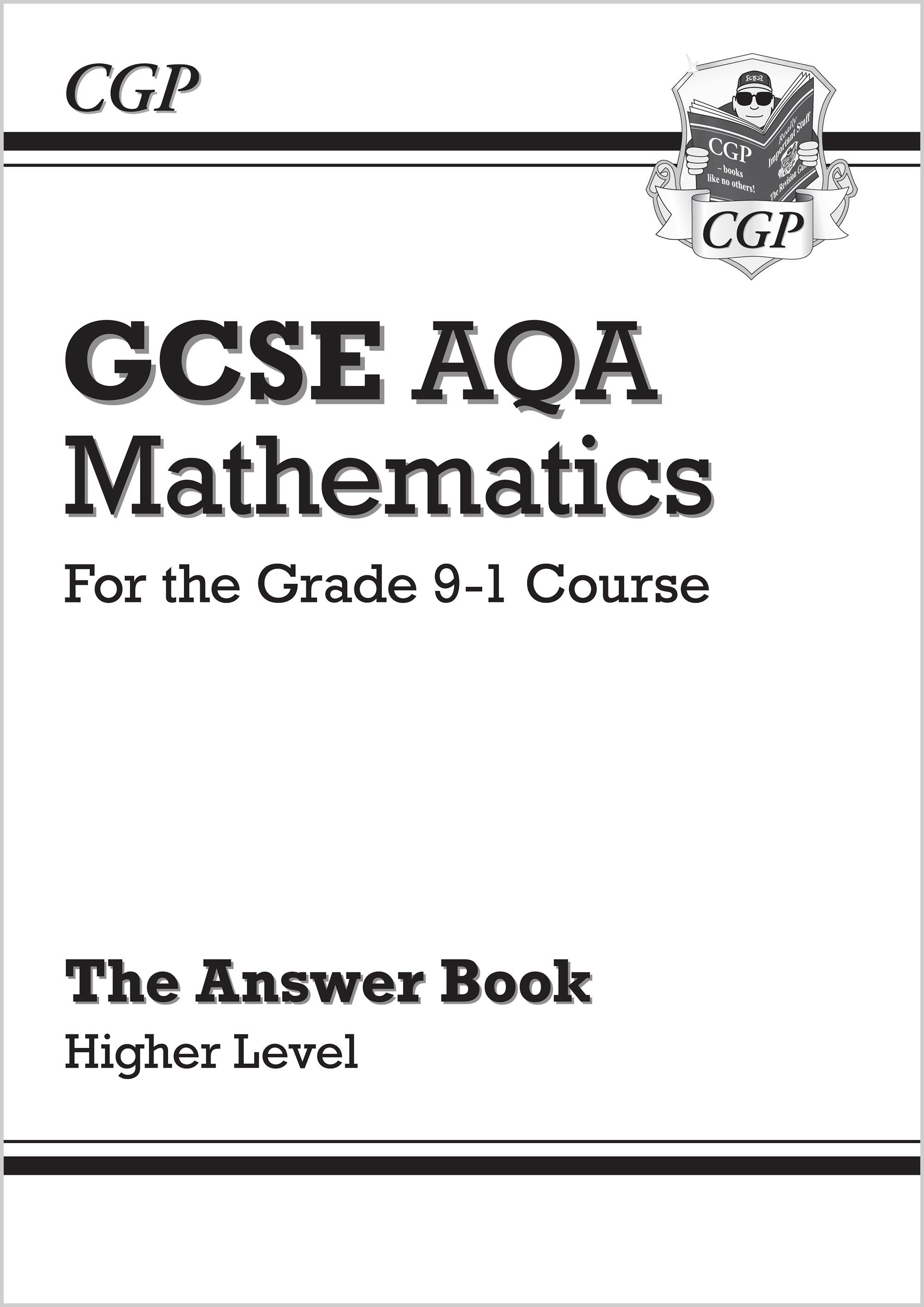 MQHA46 - GCSE Maths AQA Answers for Workbook: Higher - for the Grade 9-1 Course
