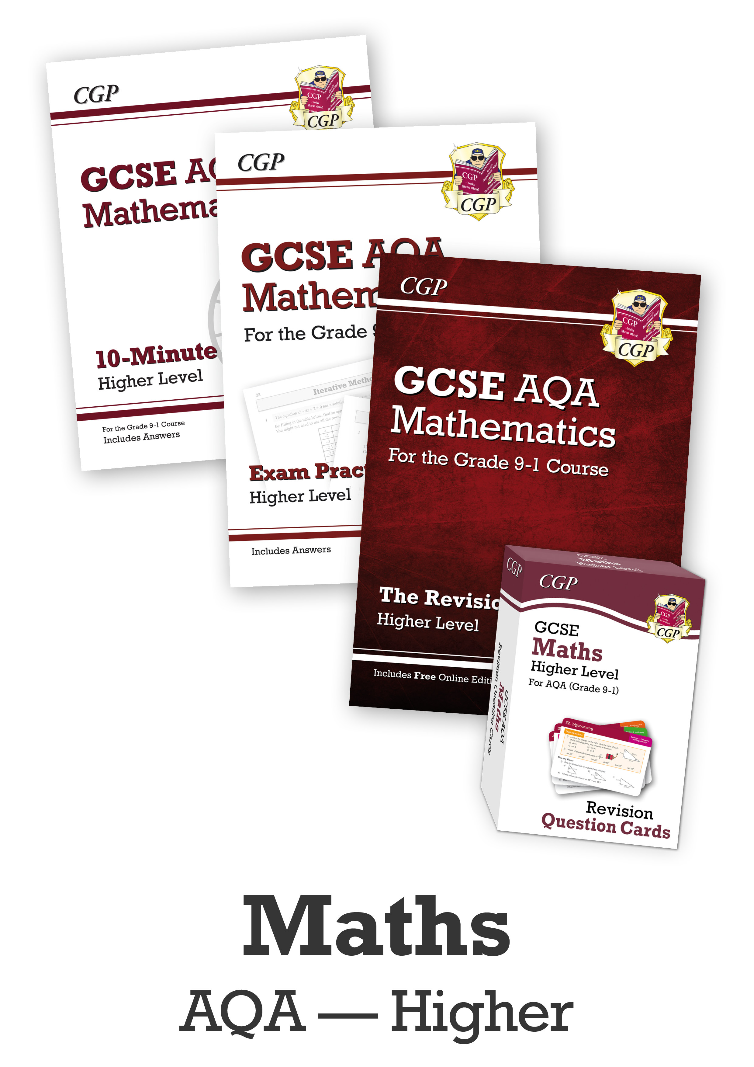 MQHCUB41 - GCSE Catch-Up Revision Essentials Bundle: AQA Maths Higher