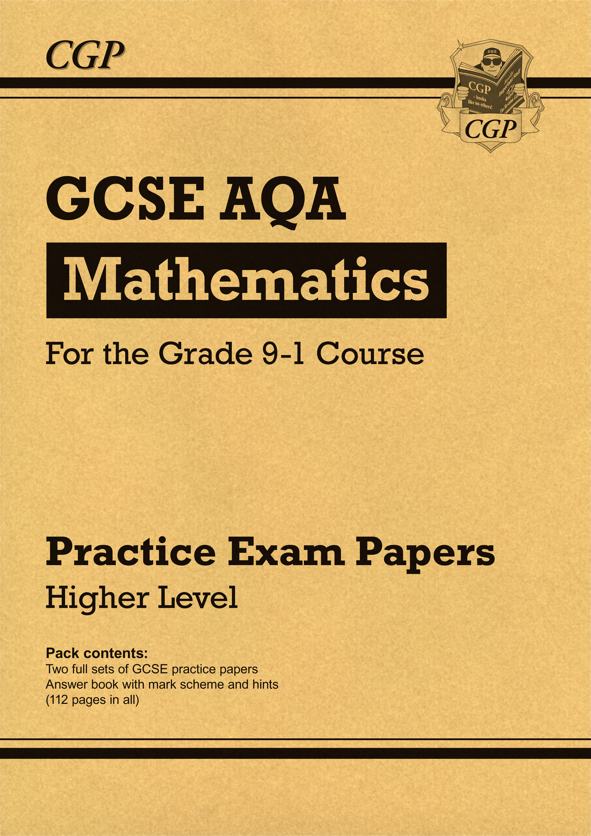 MQHP43 - GCSE Maths AQA Practice Papers: Higher - for the Grade 9-1 Course