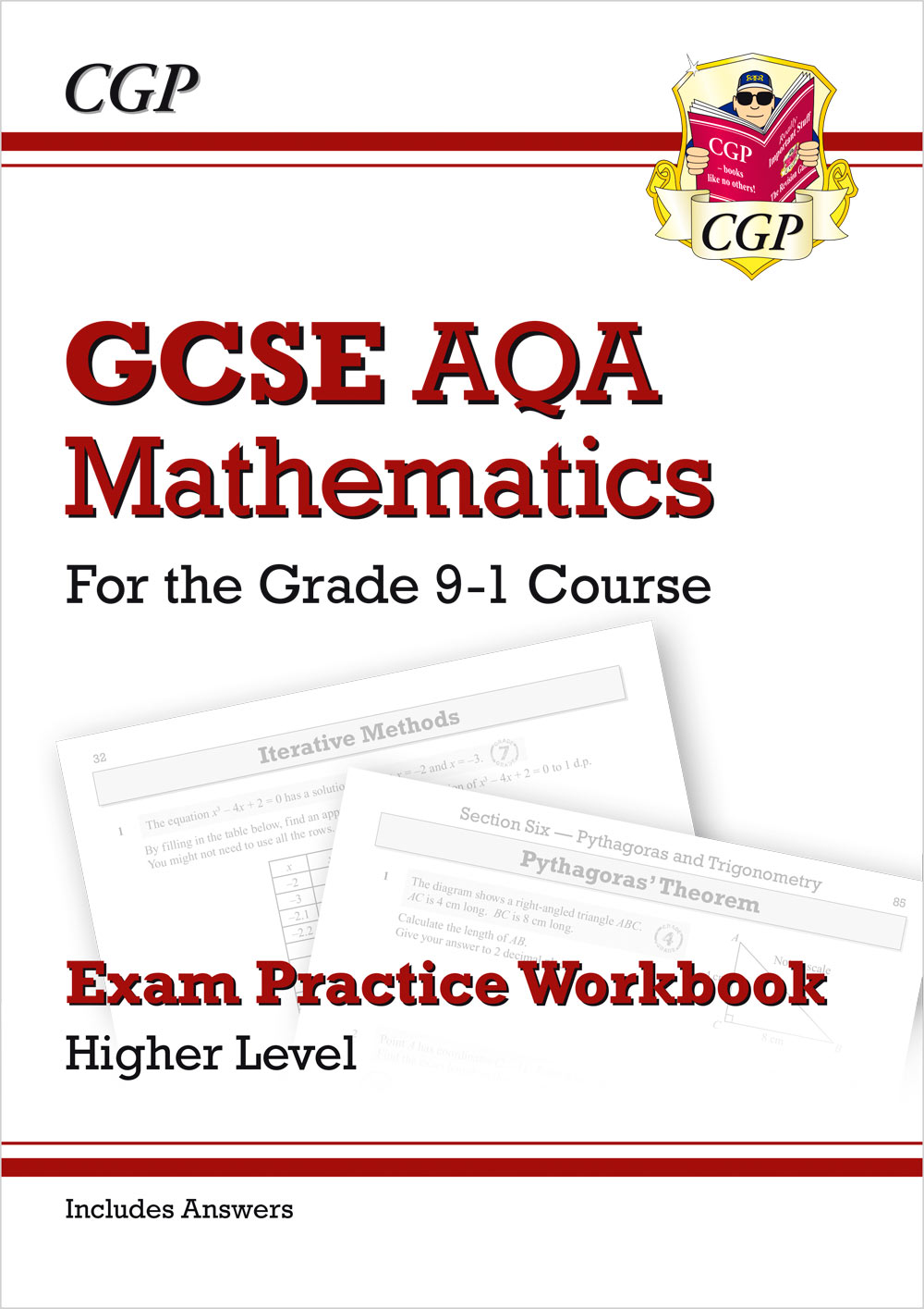 MQHQ42 - GCSE Maths AQA Exam Practice Workbook: Higher - for the Grade 9-1 Course (includes Answers)