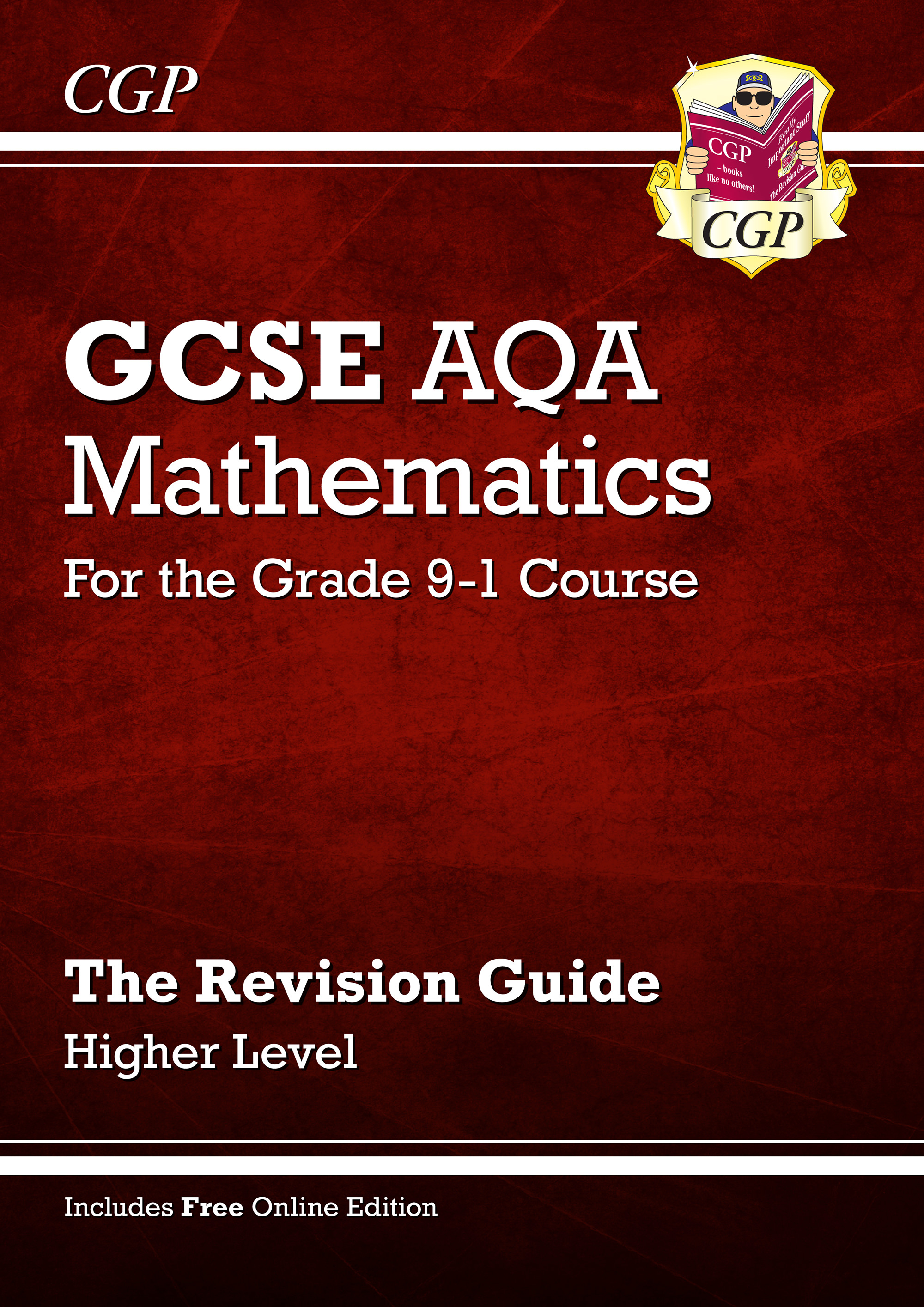 MQHR46 - GCSE Maths AQA Revision Guide: Higher - for the Grade 9-1 Course (with Online Edition)