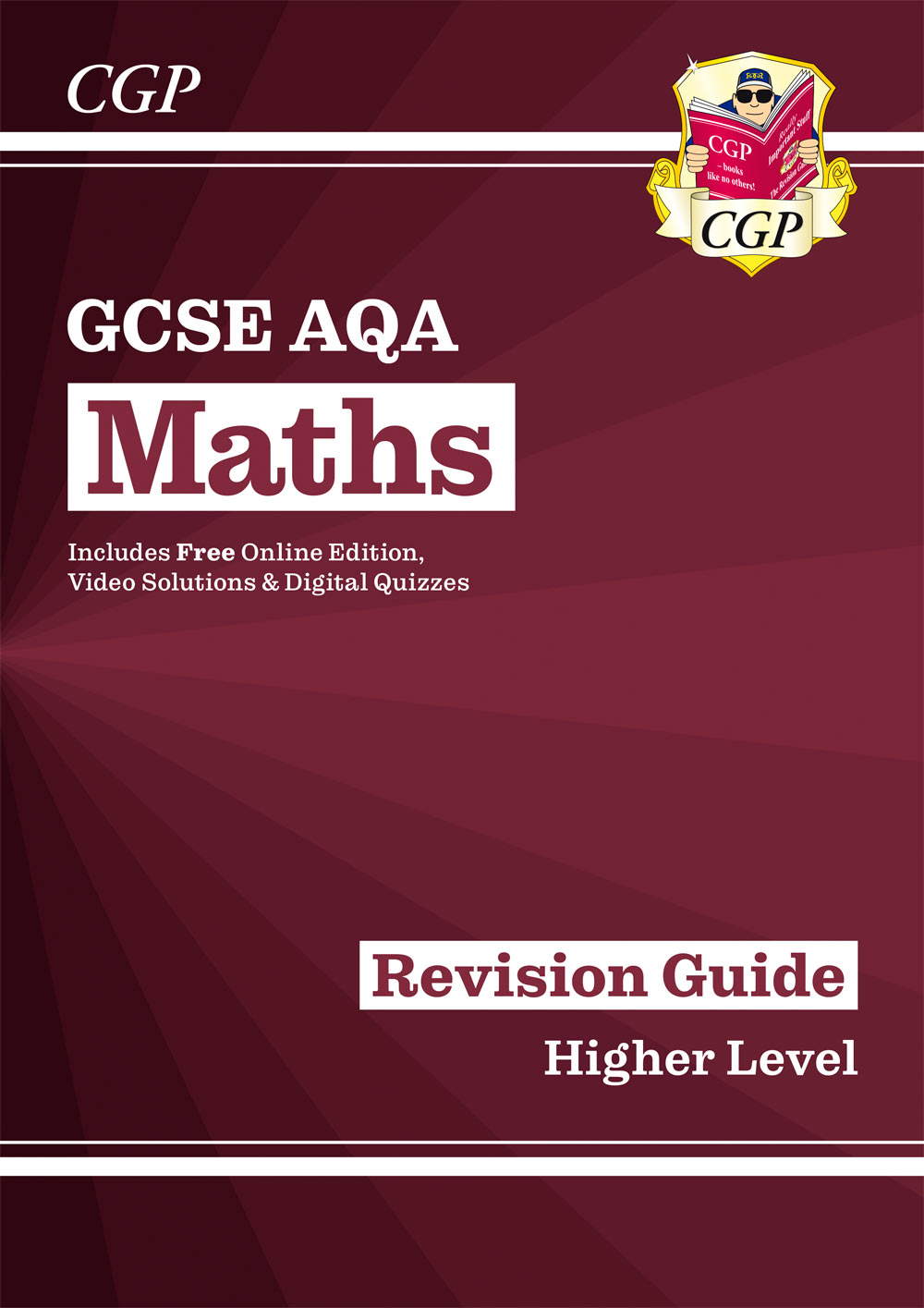 MQHR47 - New 2021 GCSE Maths AQA Revision Guide: Higher inc Online Edition, Videos & Quizzes
