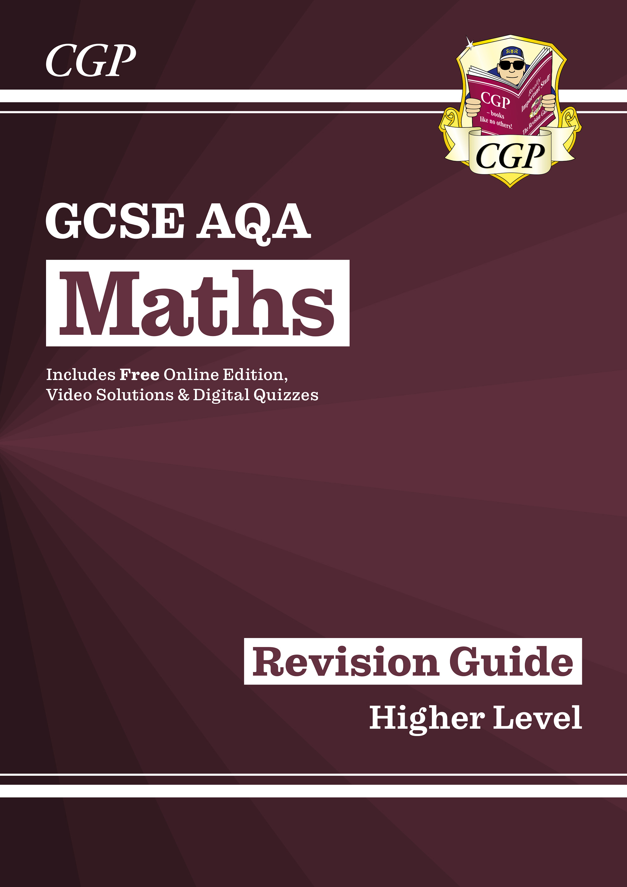 MQHR47D - New 2021 GCSE Maths AQA Revision Guide: Higher inc Online Edition, Videos & Quizzes Online
