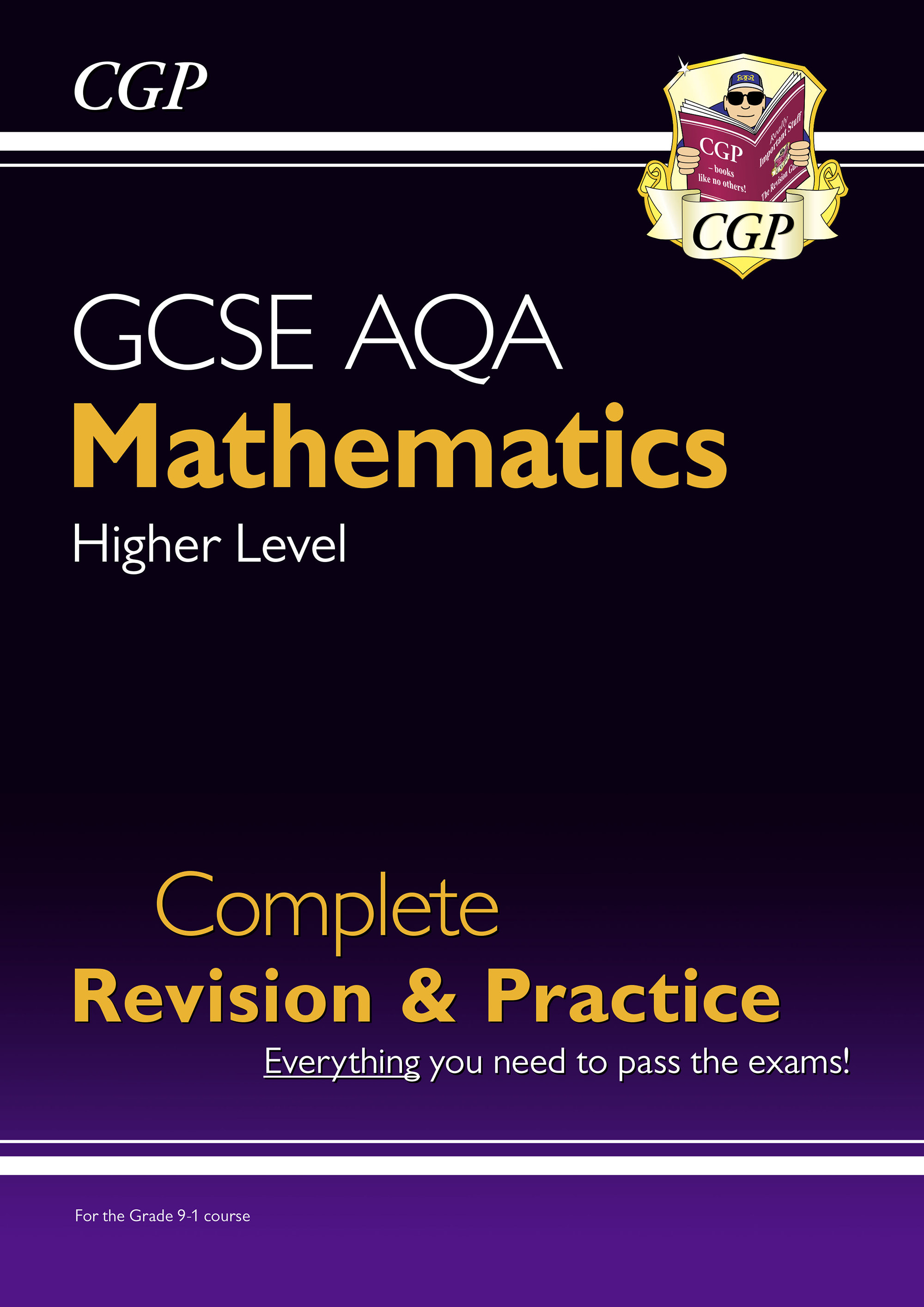 MQHS43DK - GCSE Maths AQA Complete Revision & Practice: Higher - for the Grade 9-1 Course