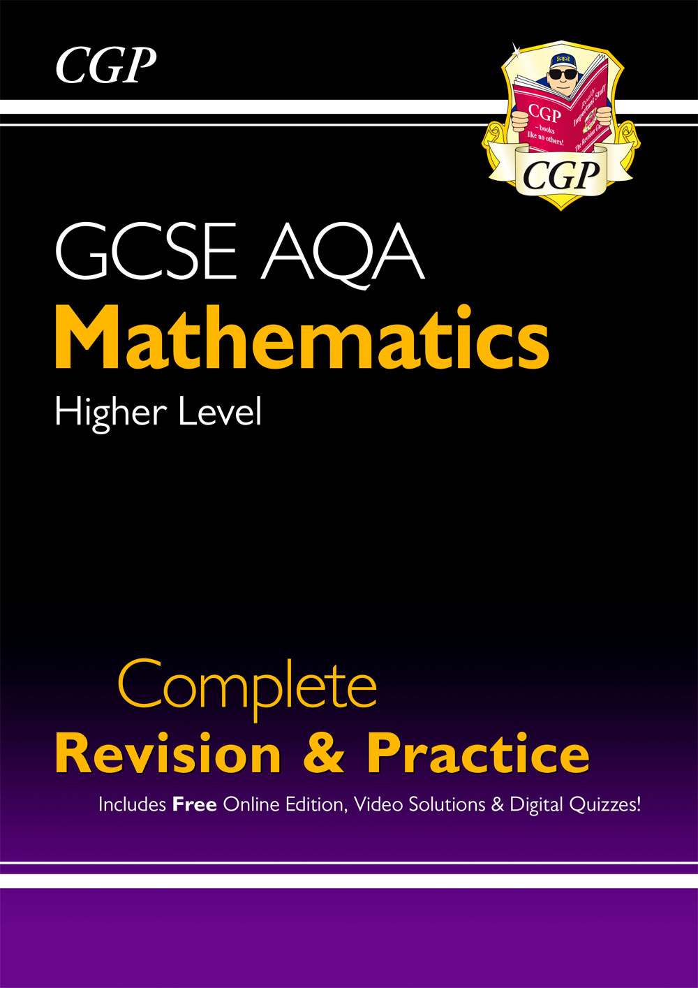 MQHS44 - New 2021 GCSE Maths AQA Complete Revision & Practice: Higher inc Online Ed, Videos & Quizze