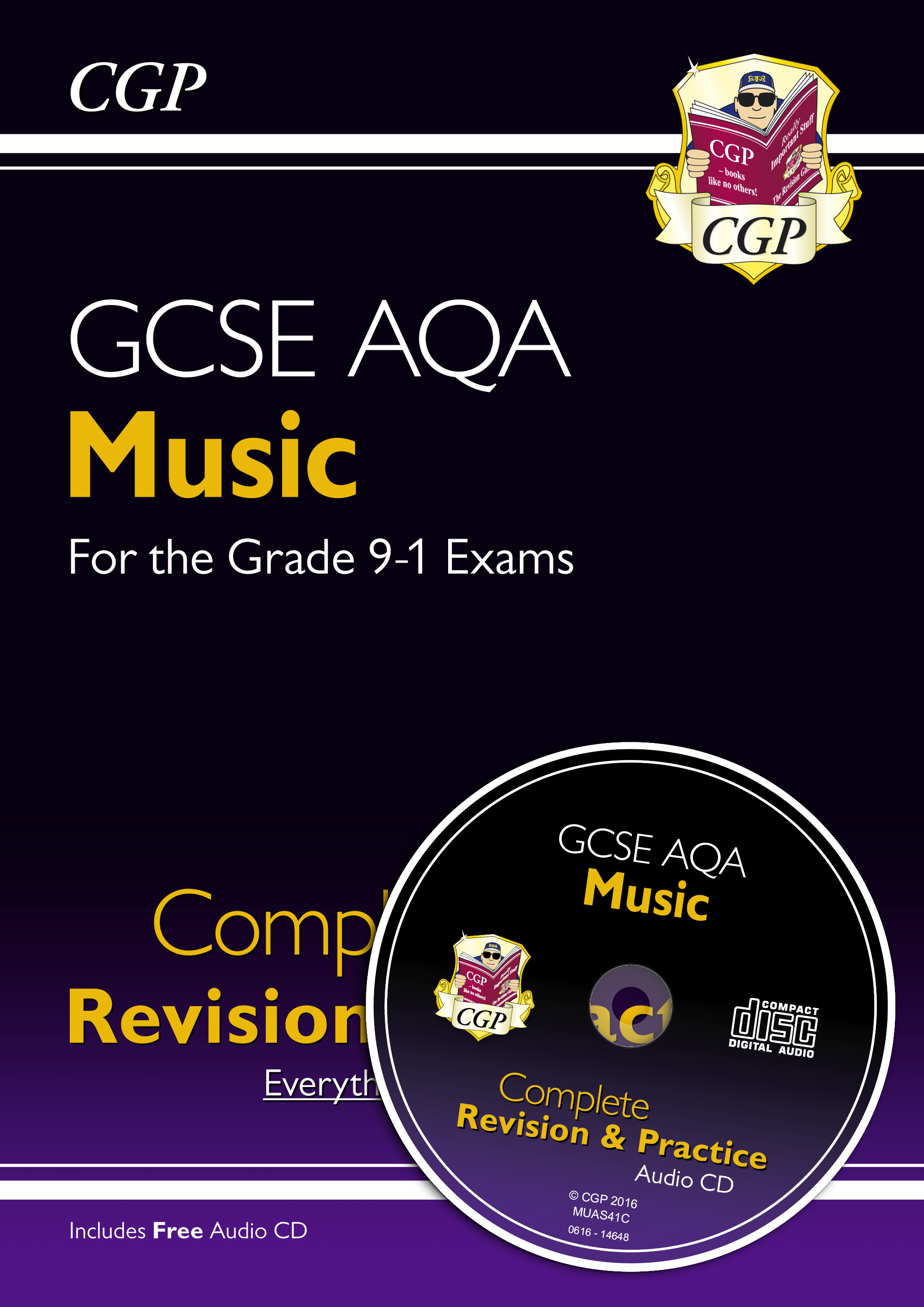 MUAS41 - GCSE Music AQA Complete Revision & Practice (with Audio CD) - for the Grade 9-1 Course