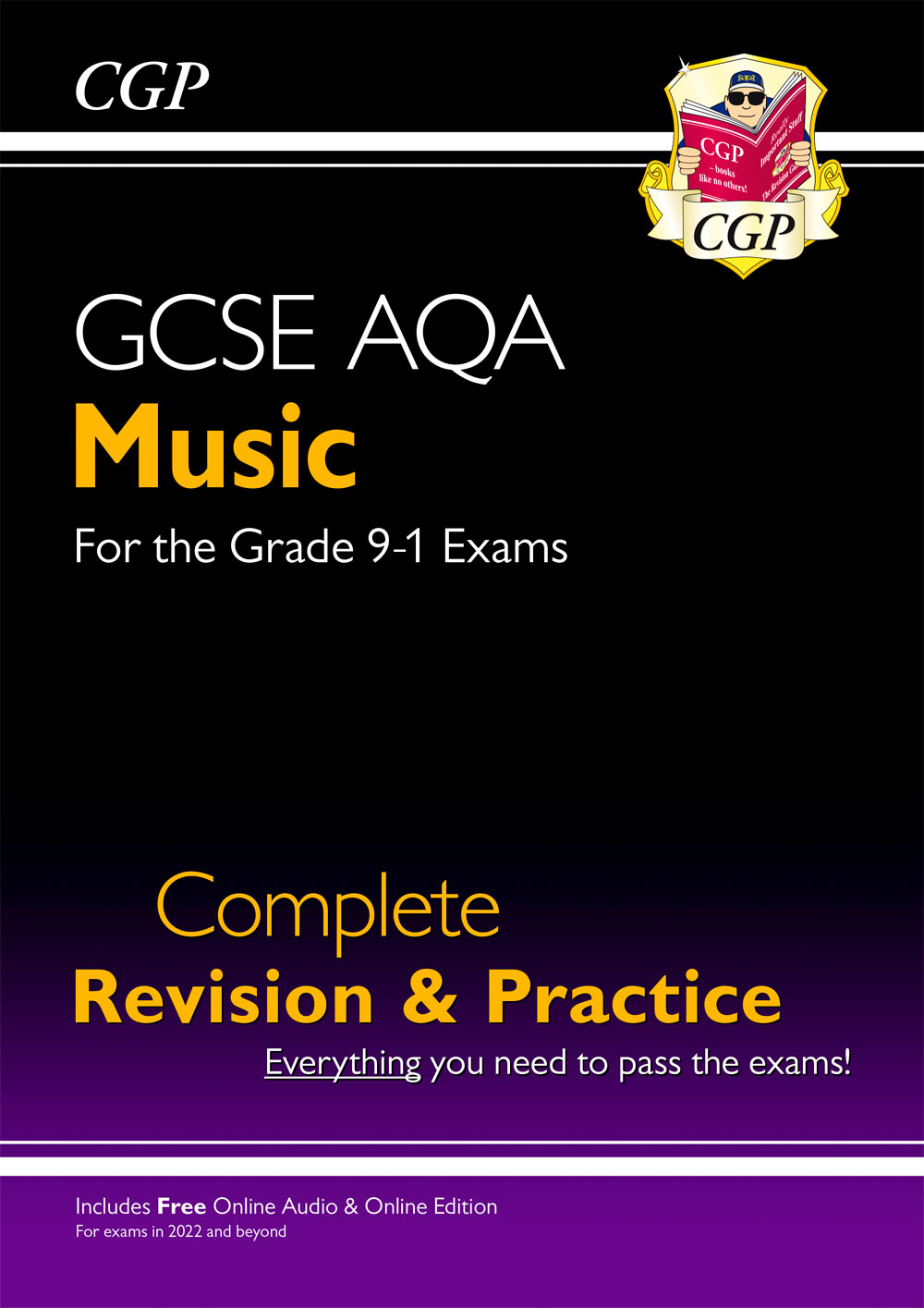 MUAS42 - New 9-1 GCSE Music AQA Complete Revision & Practice with Online Edition & Audio: for exams