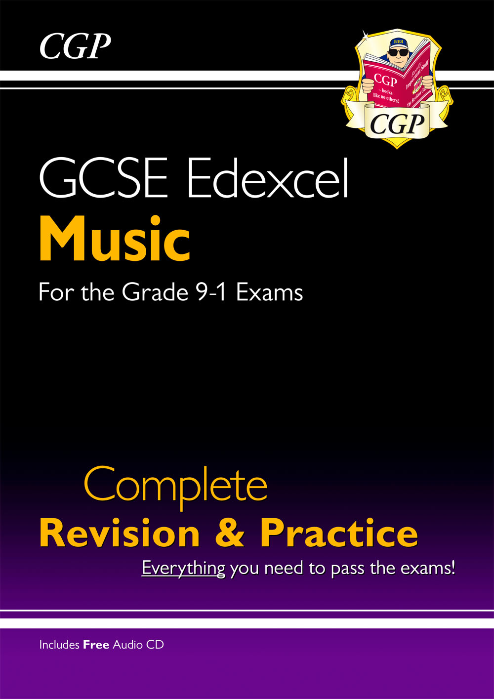 MUES41 - GCSE Music Edexcel Complete Revision & Practice (with Audio CD) - for the Grade 9-1 Course