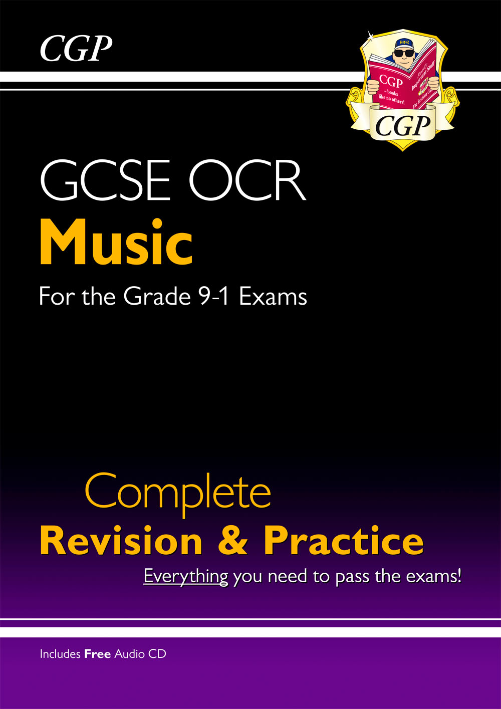 MURS41 - New GCSE Music OCR Complete Revision & Practice (with Audio CD) - for the Grade 9-1 Course