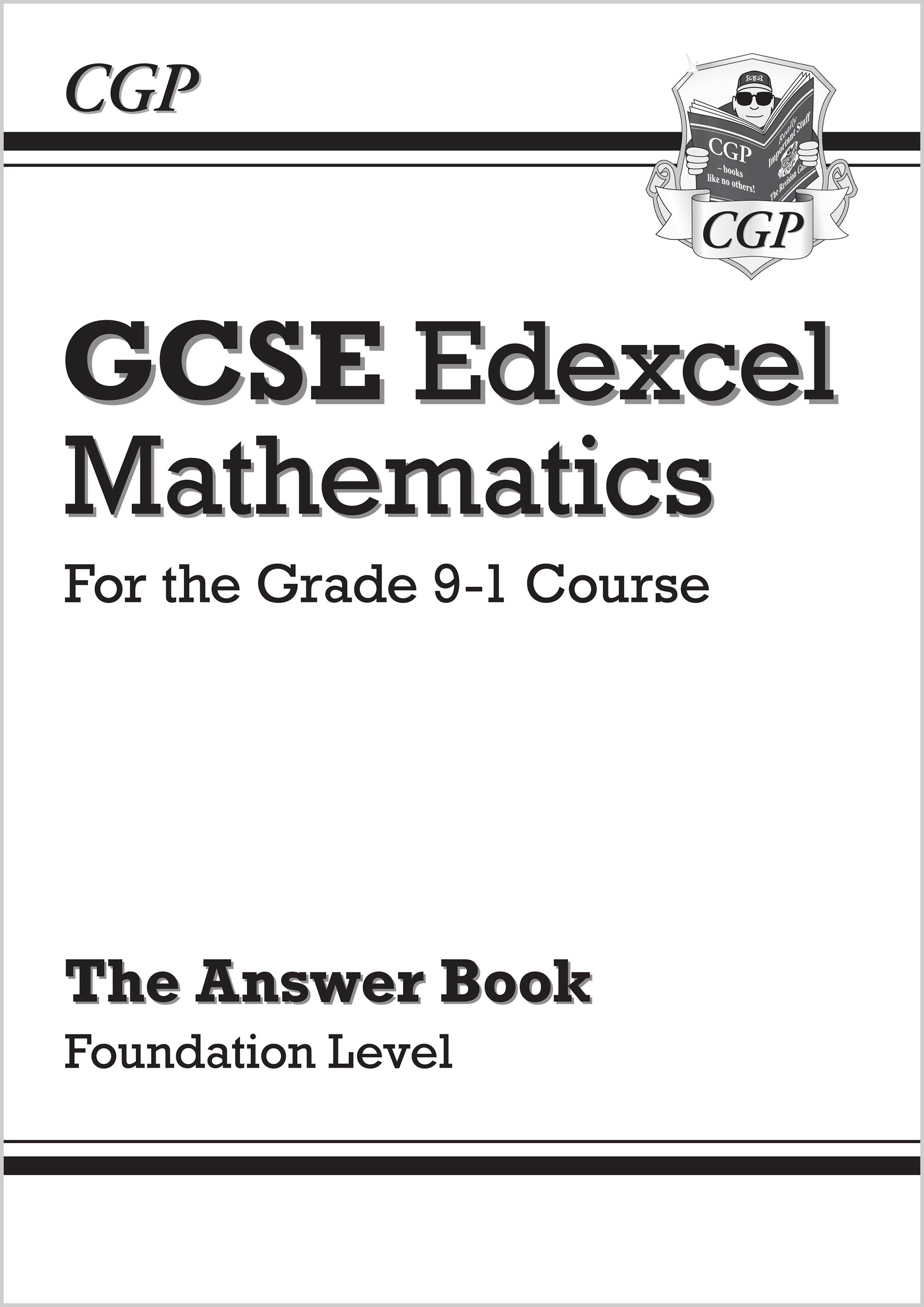MXFA46 - GCSE Maths Edexcel Answers for Workbook: Foundation - for the Grade 9-1 Course