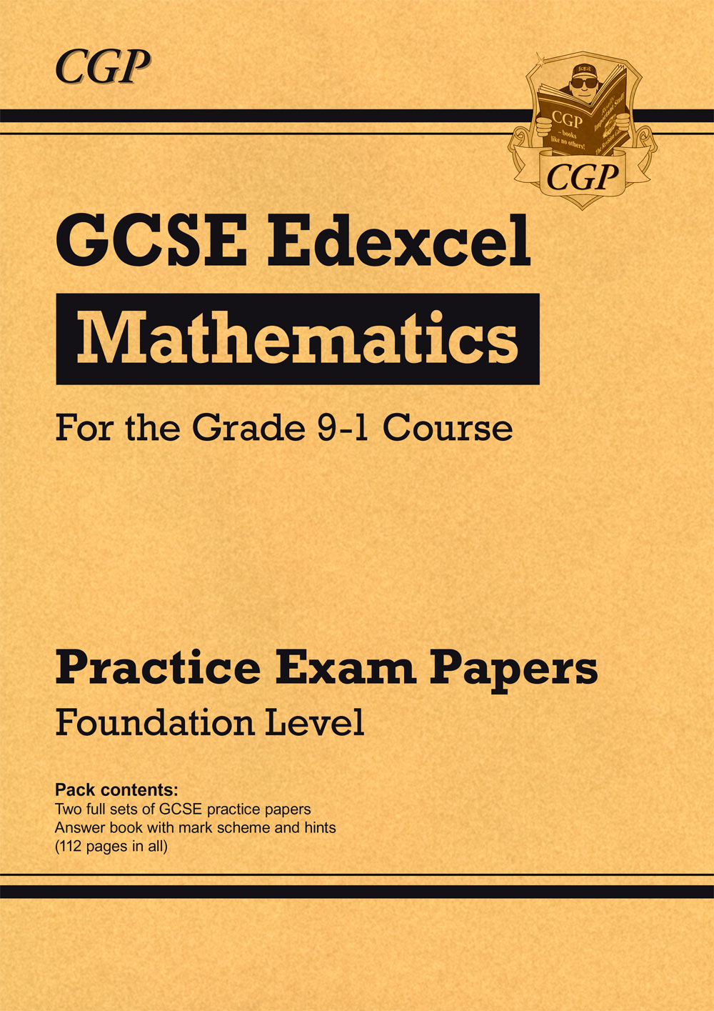 MXFP43 - New GCSE Maths Edexcel Practice Papers: Foundation - for the Grade 9-1 Course