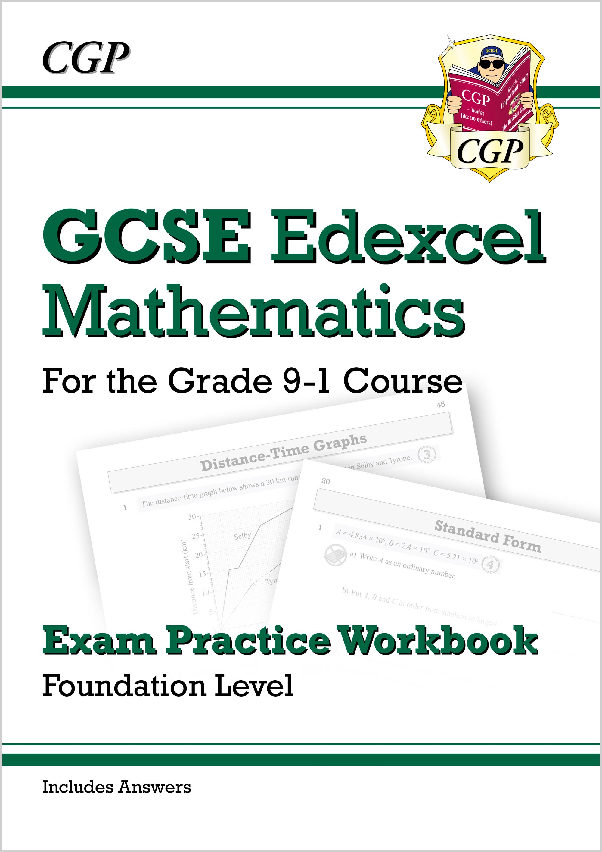 MXFQ42DK - GCSE Maths Edexcel Exam Practice Workbook: Foundation - for the Grade 9-1 Course (with An