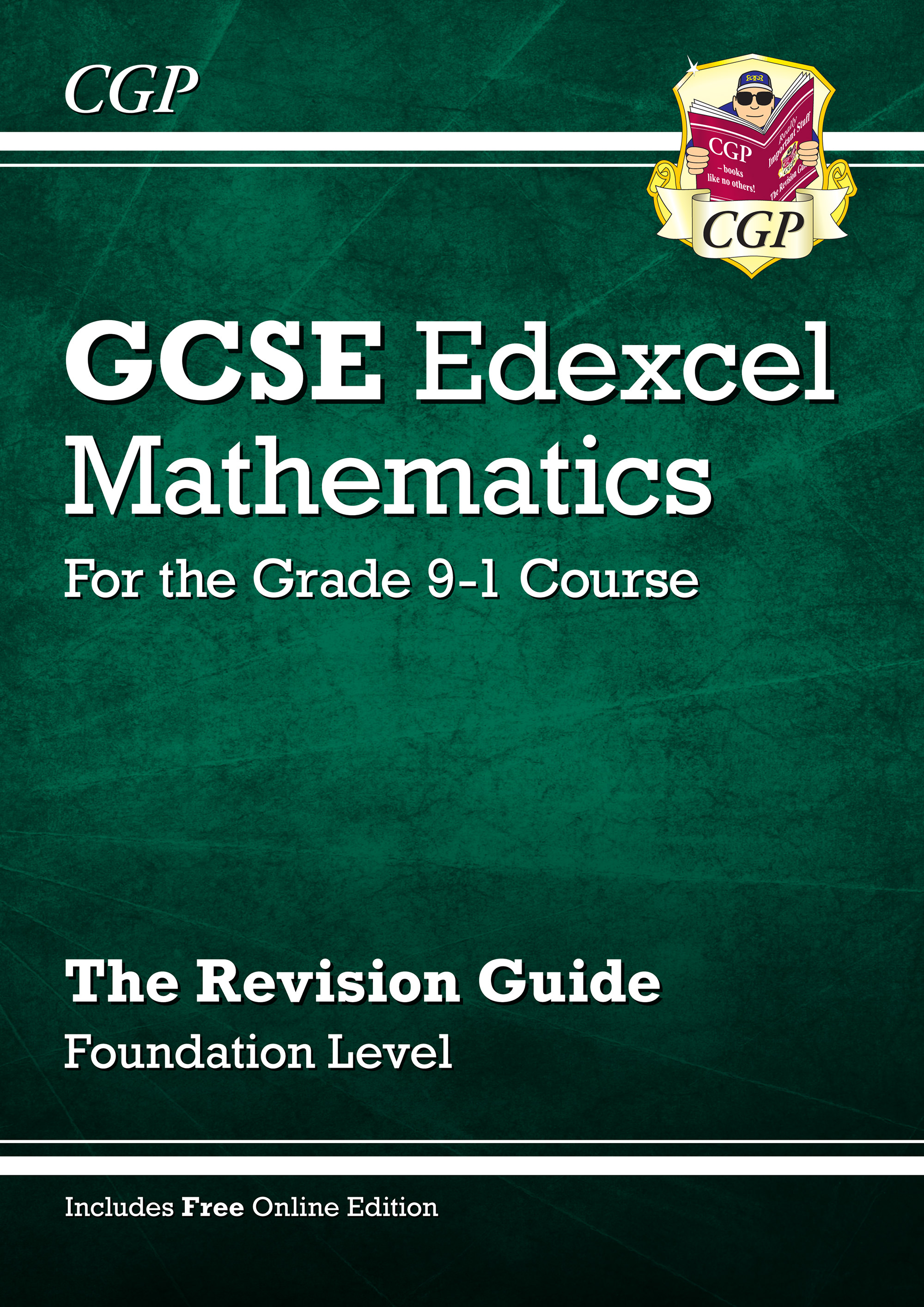 MXFR46 - GCSE Maths Edexcel Revision Guide: Foundation - for the Grade 9-1 Course (with Online Editi