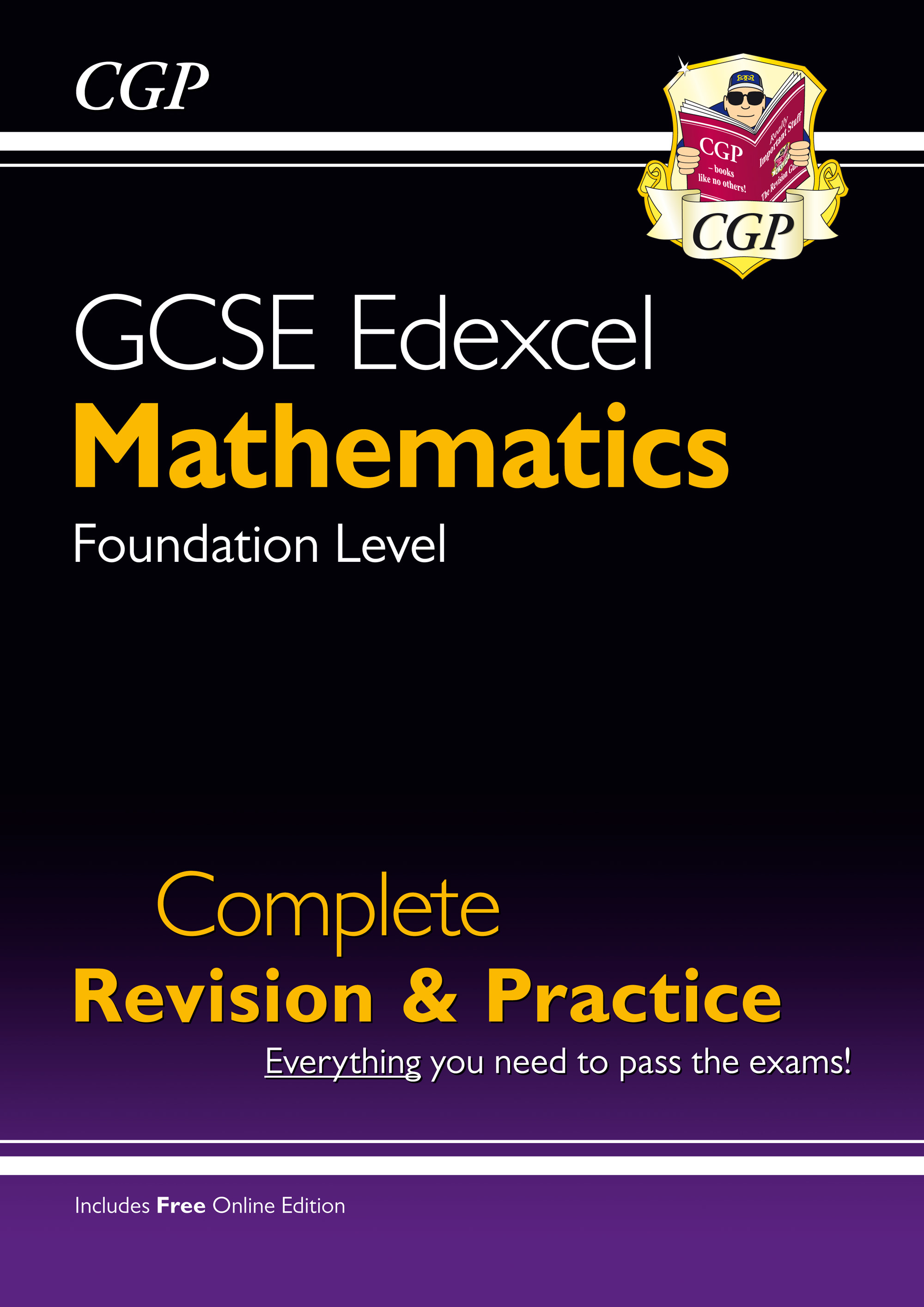 MXFS41 - New GCSE Maths Edexcel Complete Revision & Practice: Foundation - Grade 9-1 Course (with On